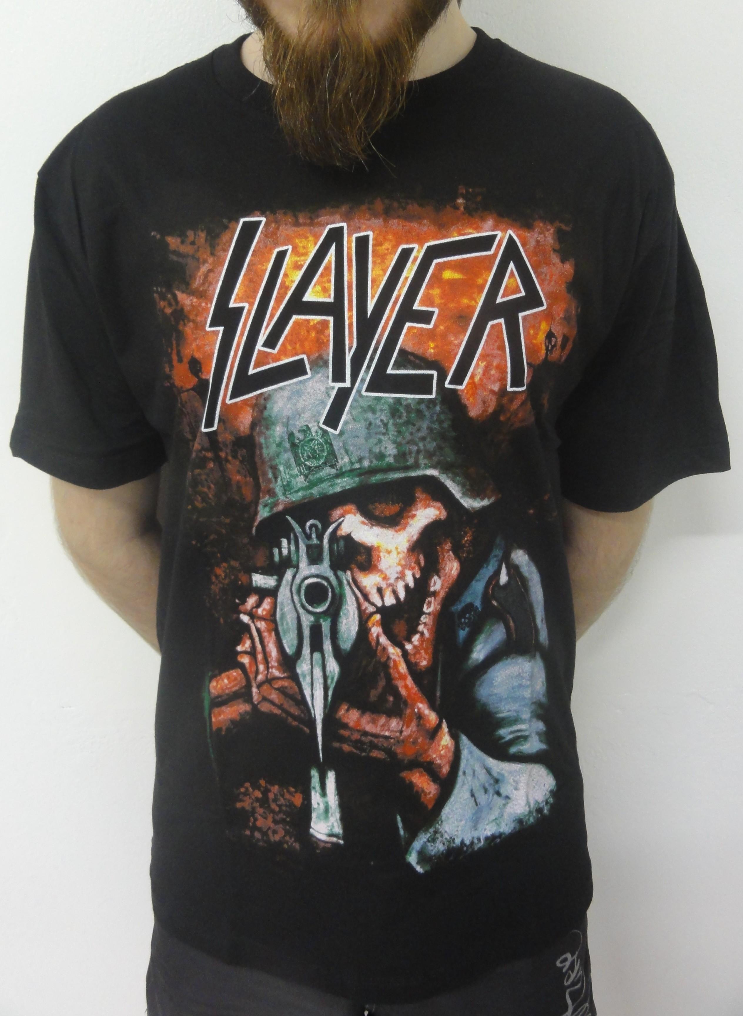 Camiseta Banda Slayer P  daea0929a79ac