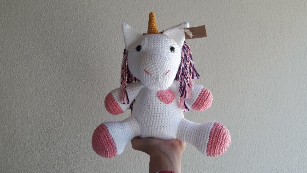 Unicornio con morrete azul, patrón en castellano | Amigurumi ... | 581x1032