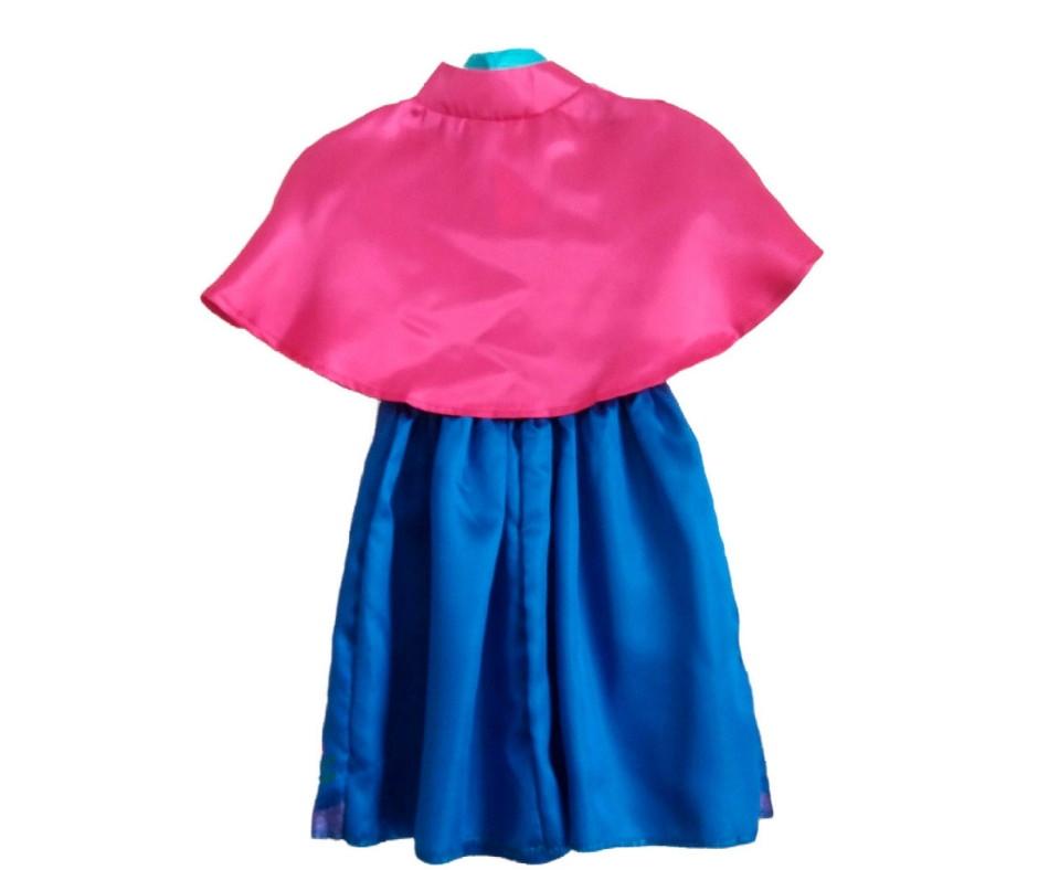 3608909c19399f Fantasia Princesa Anna- Infantil - Tam 8