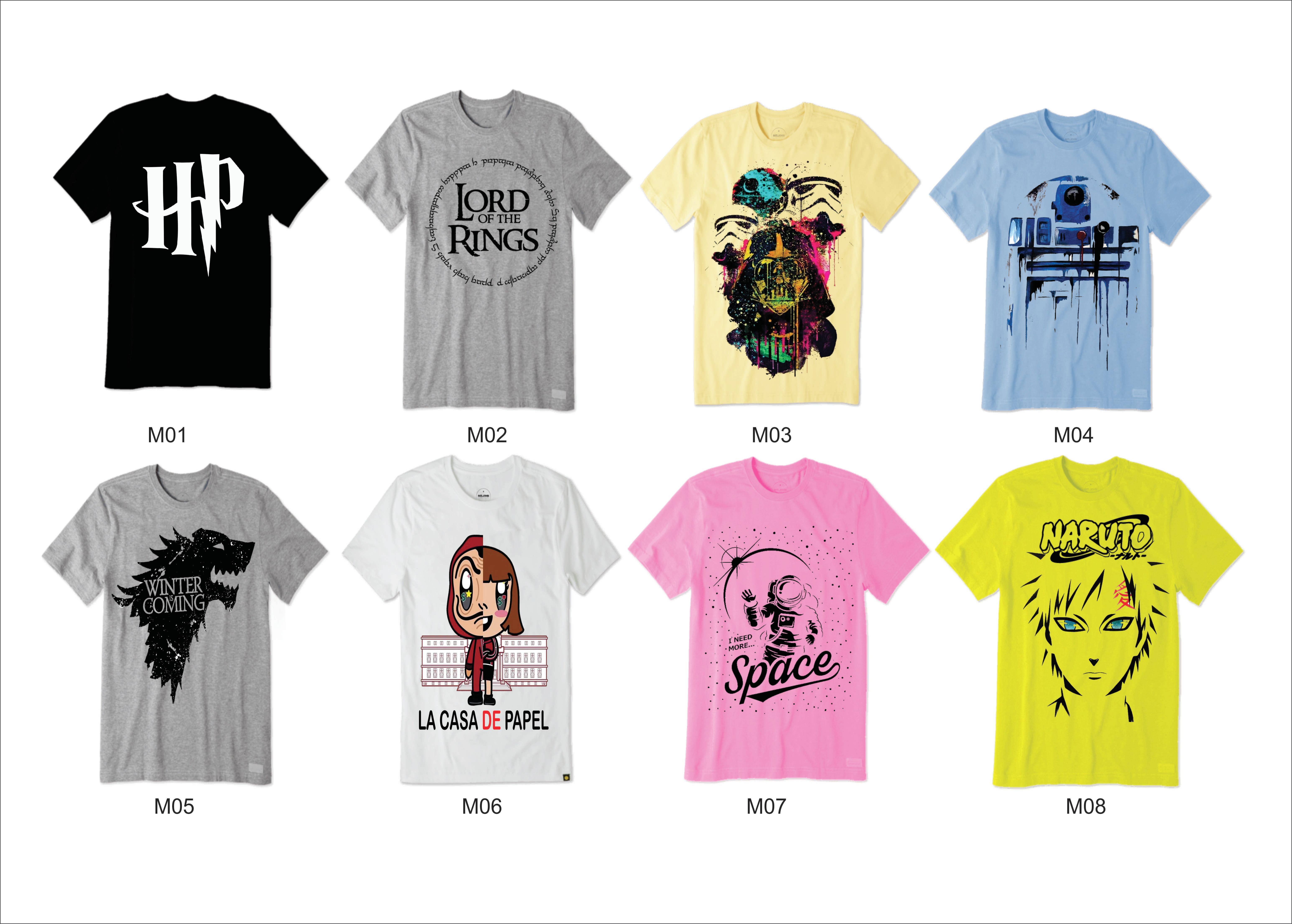 c02595e7b Kit Heróis também amam com 8 camisetas p  revender atacado no Elo7 ...