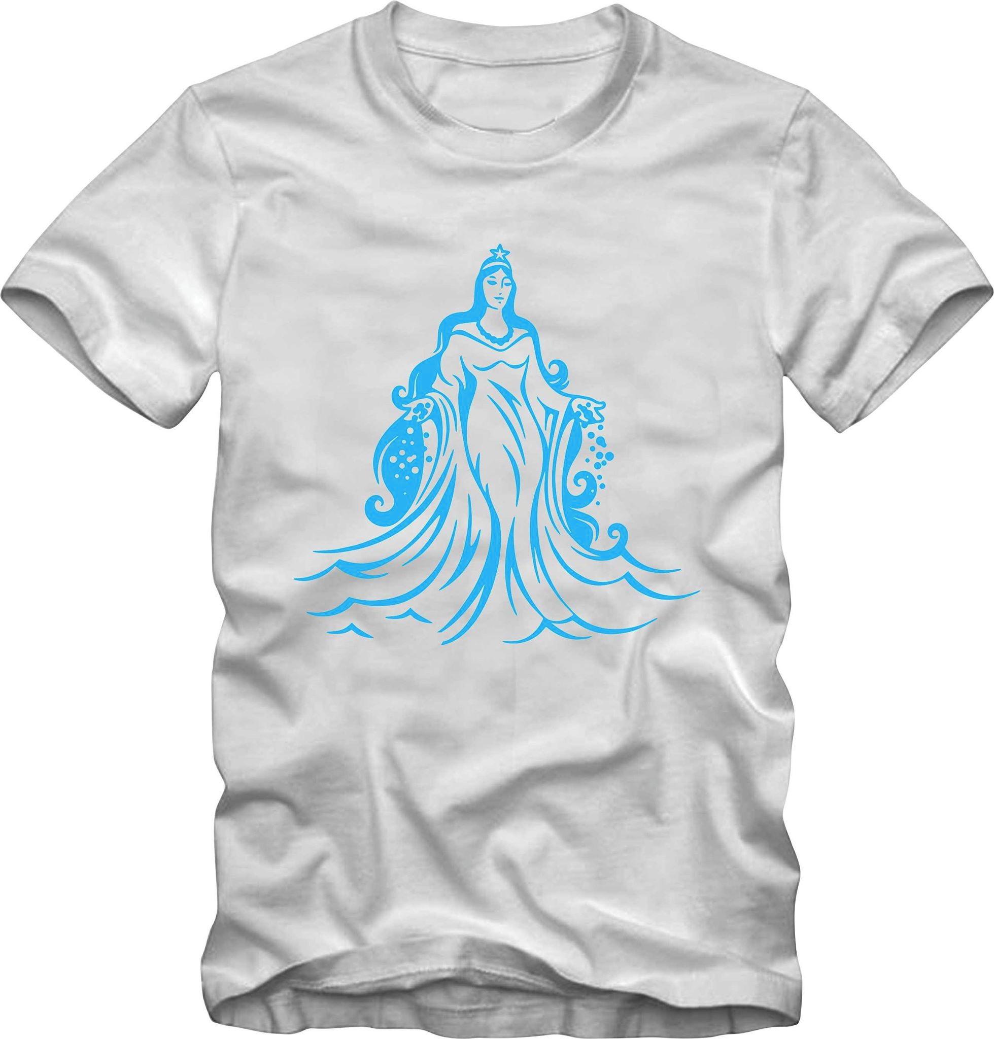 c9494038244 Camiseta Camisa Orixá Iemanjá Tamanho Especial Plus Size