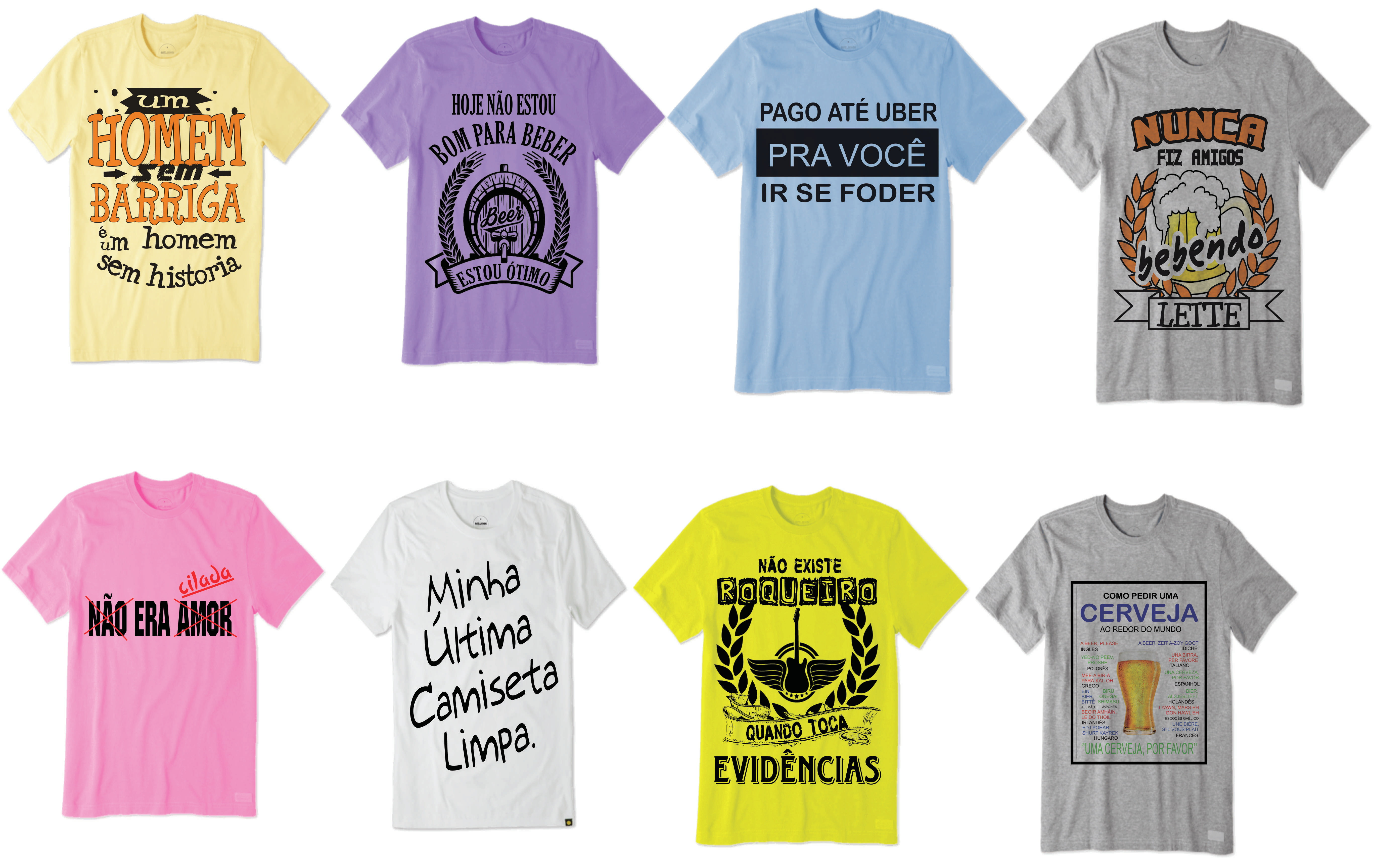 9573b49c1d799 Kit com 10 Camisetas Masculinas para Revender Atacado   Elo7