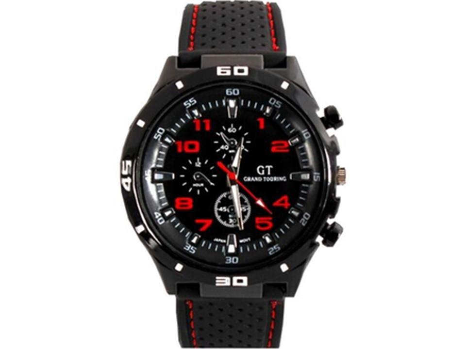 903341bb22c19 Relógio Masculino Disu Bracelete De Couro Com Calendário no Elo7   Bisnaga  Importados (E772C1)