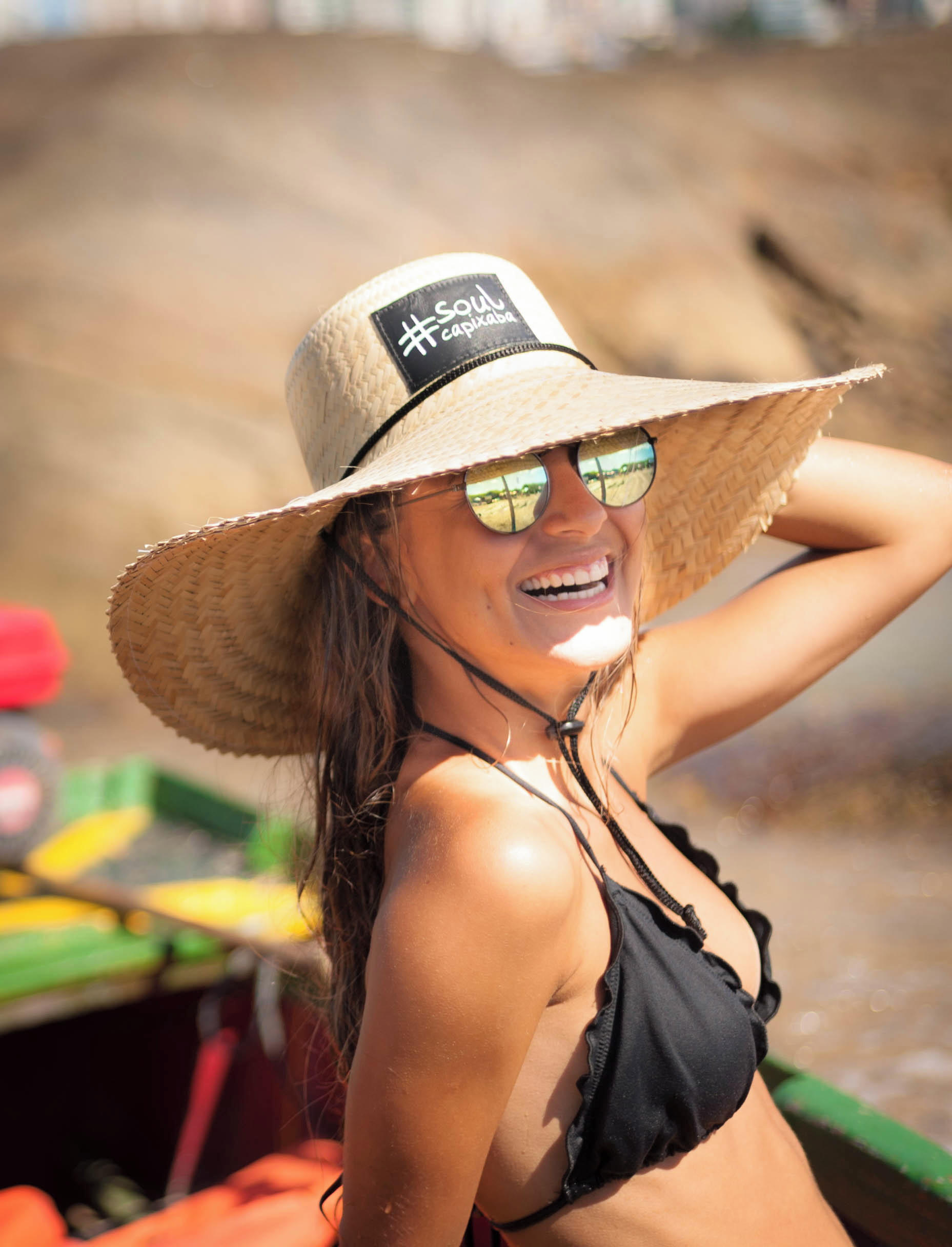 Chapéu de Palha Surf Soulcapixaba no Elo7  b7fde2580e2