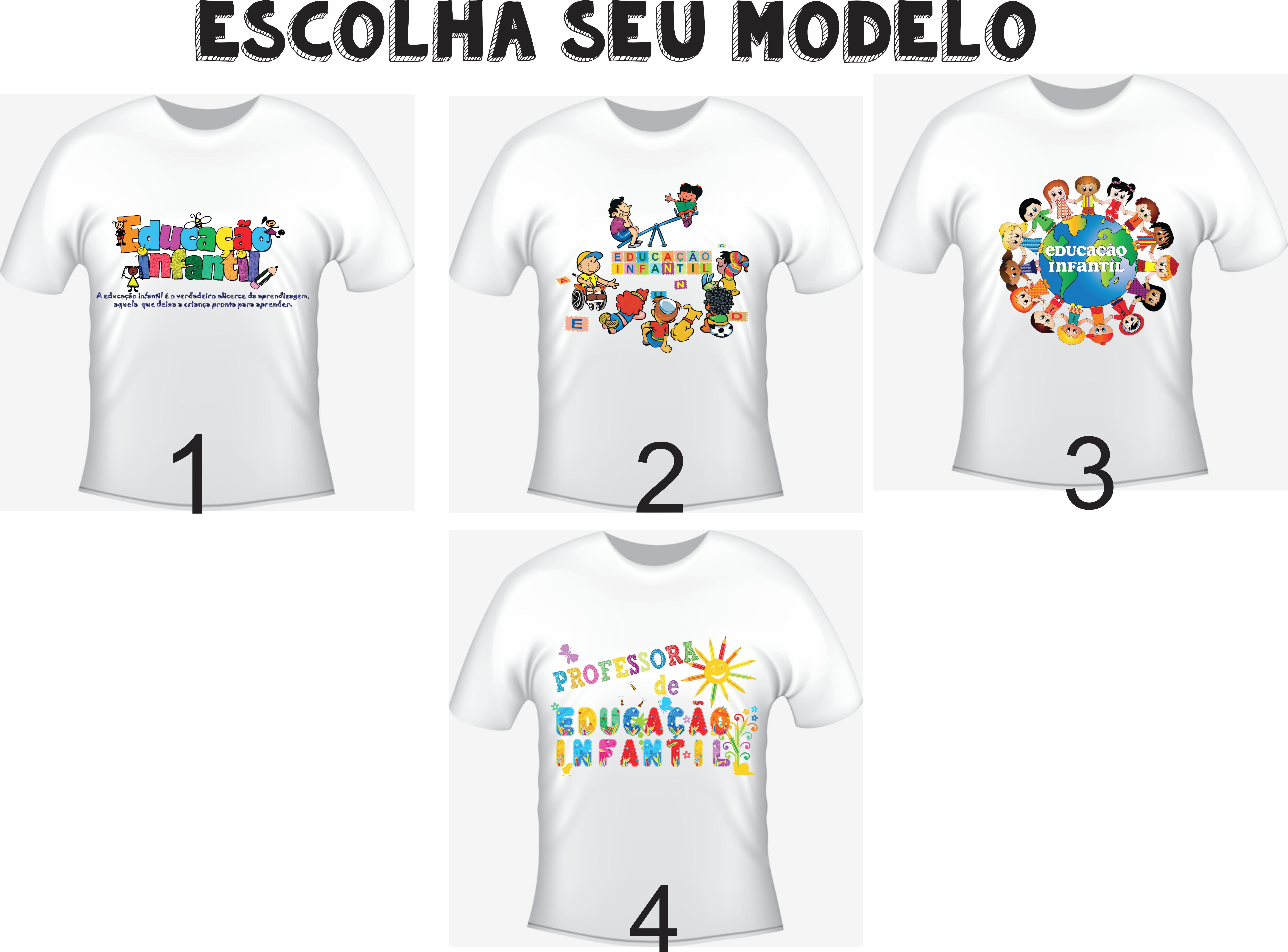 e6a1ab8ab4779 Camiseta Adulto Modelo a Escolher
