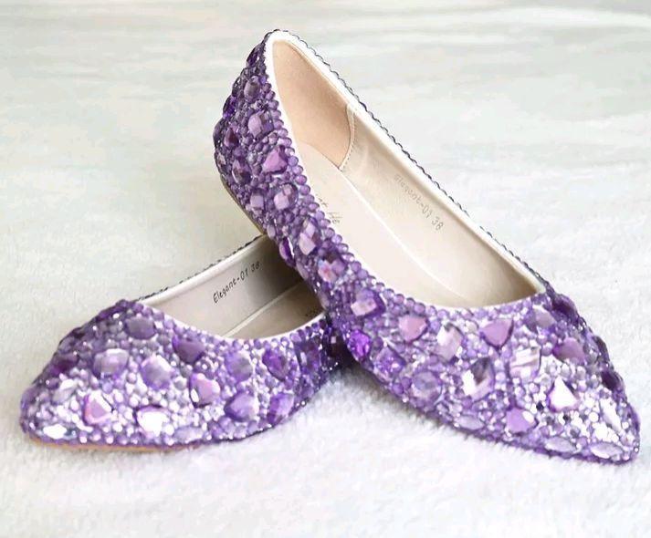 abd6a4807 Sapato de Debutante Lilas Prata Azul Dourado Personalizado | Elo7