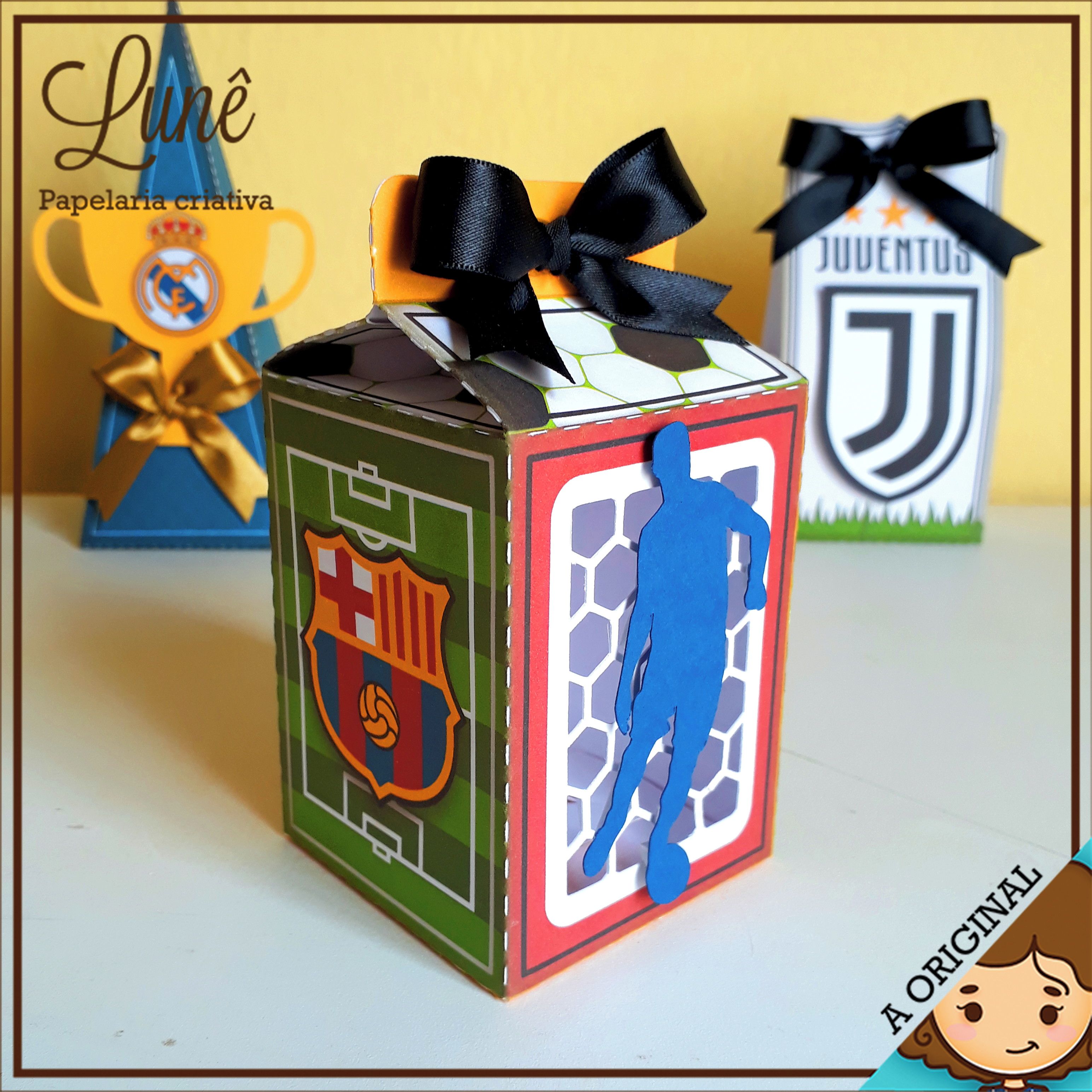 Caixa Octogono Futebol Barcelona  943f204990030