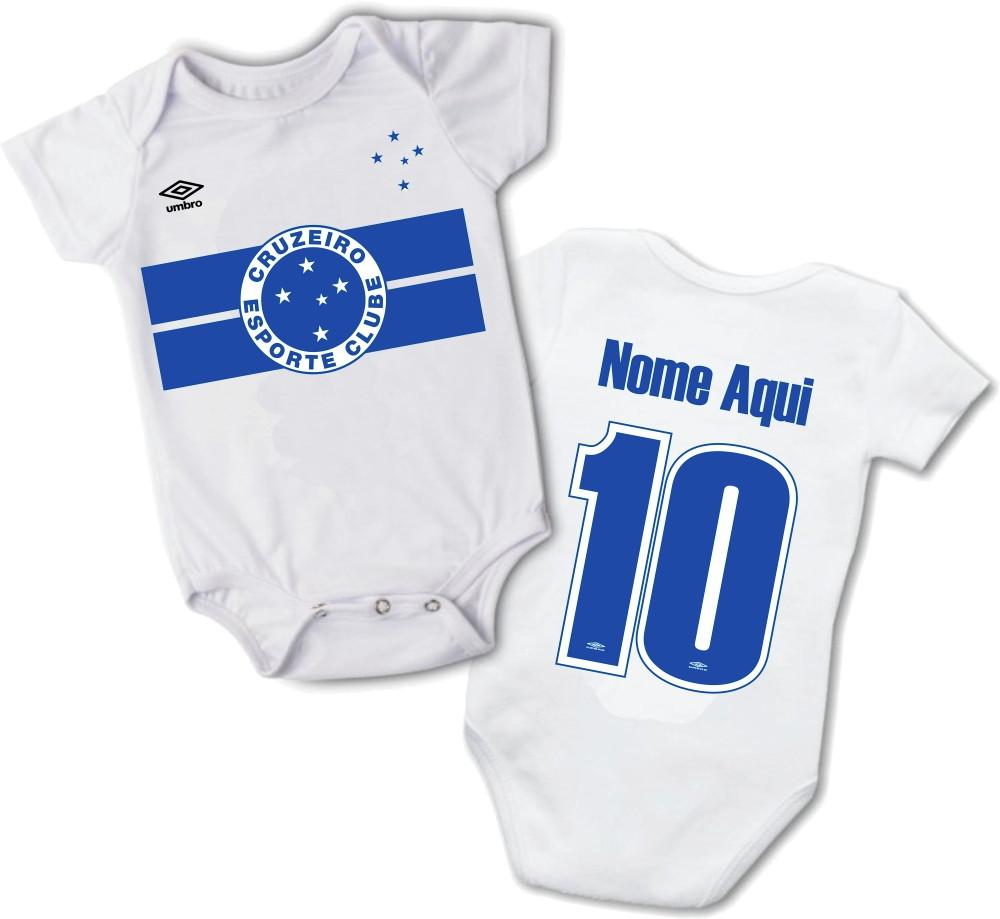 4db3c84a9f Body Bebe Time Cruzeiro Menino Masculino