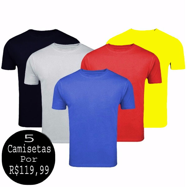 Camiseta Gola Polo Azul Royal Masculina  626bac62d7563