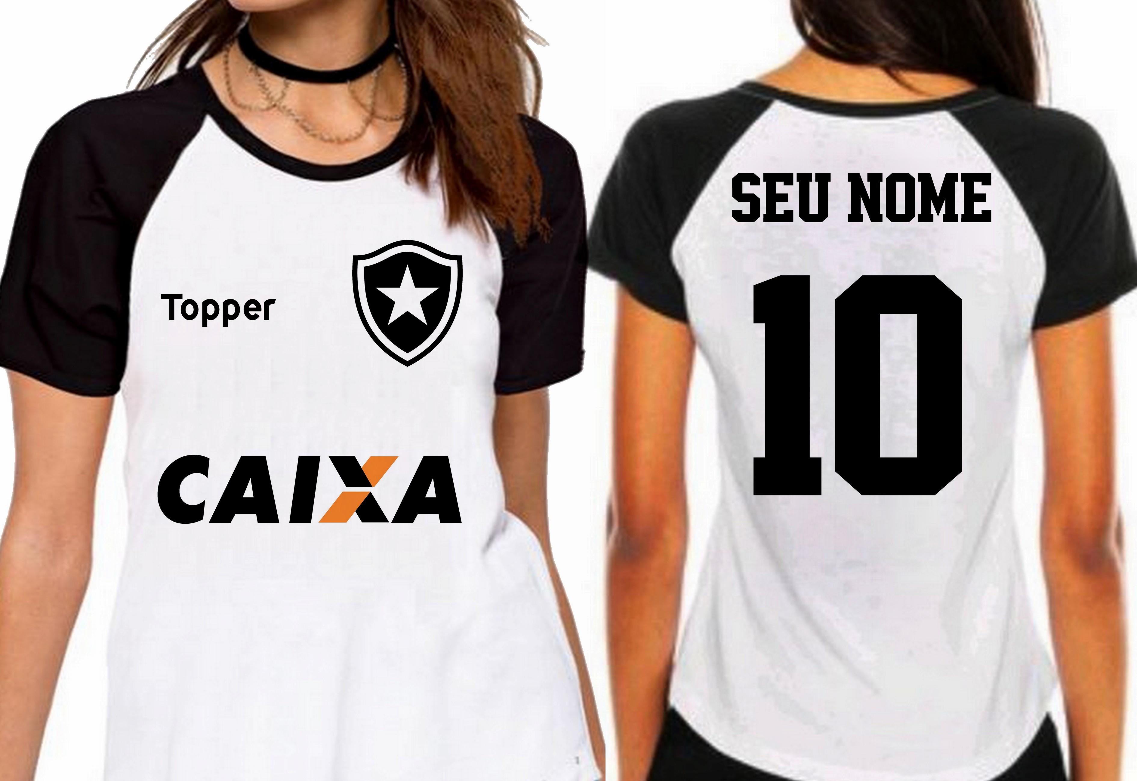 4c3ca36010877 Camiseta Feminina Botafogo Fogão