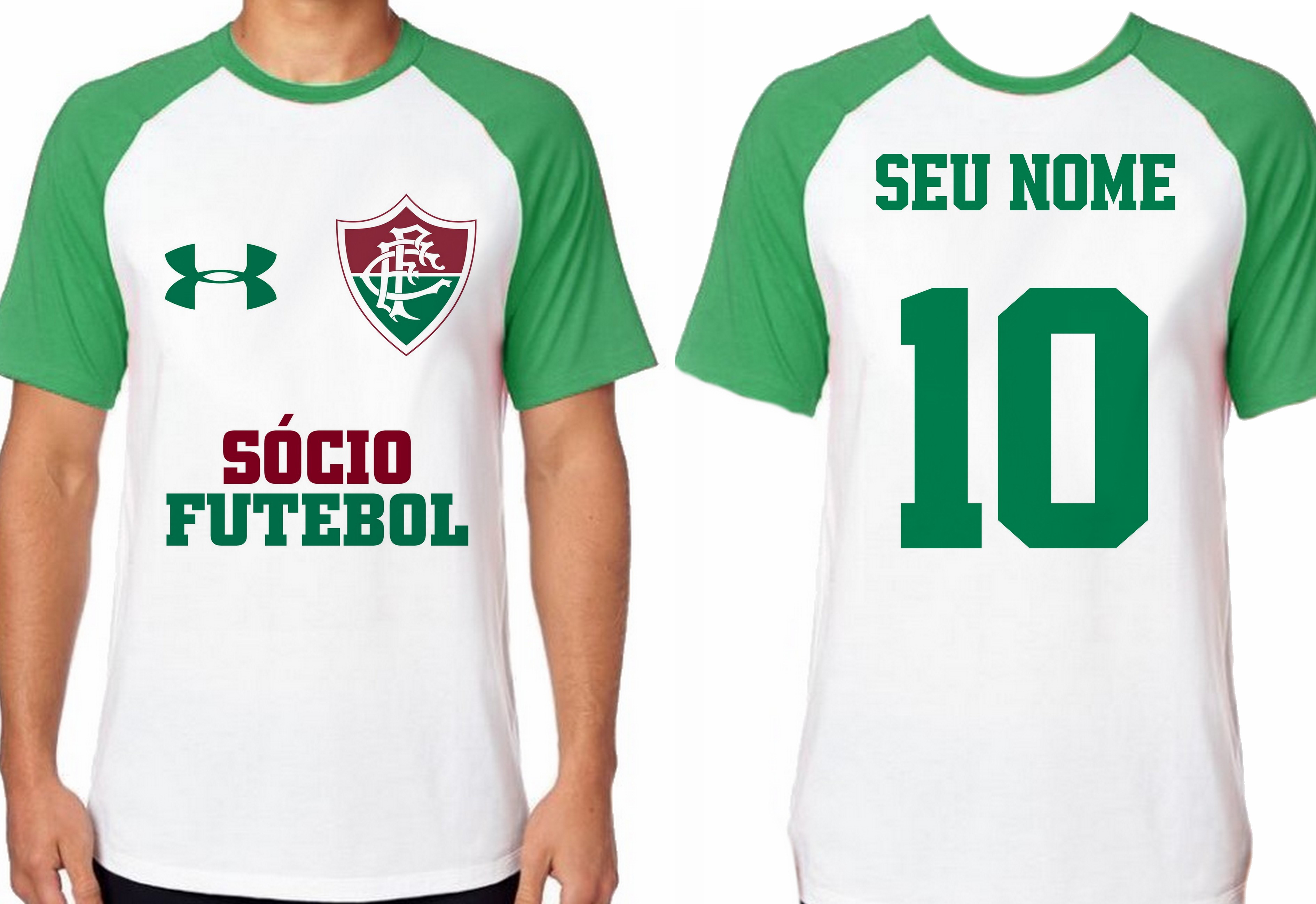 Camiseta Ziraldo Fluminense Adulto  f472fe8730eec