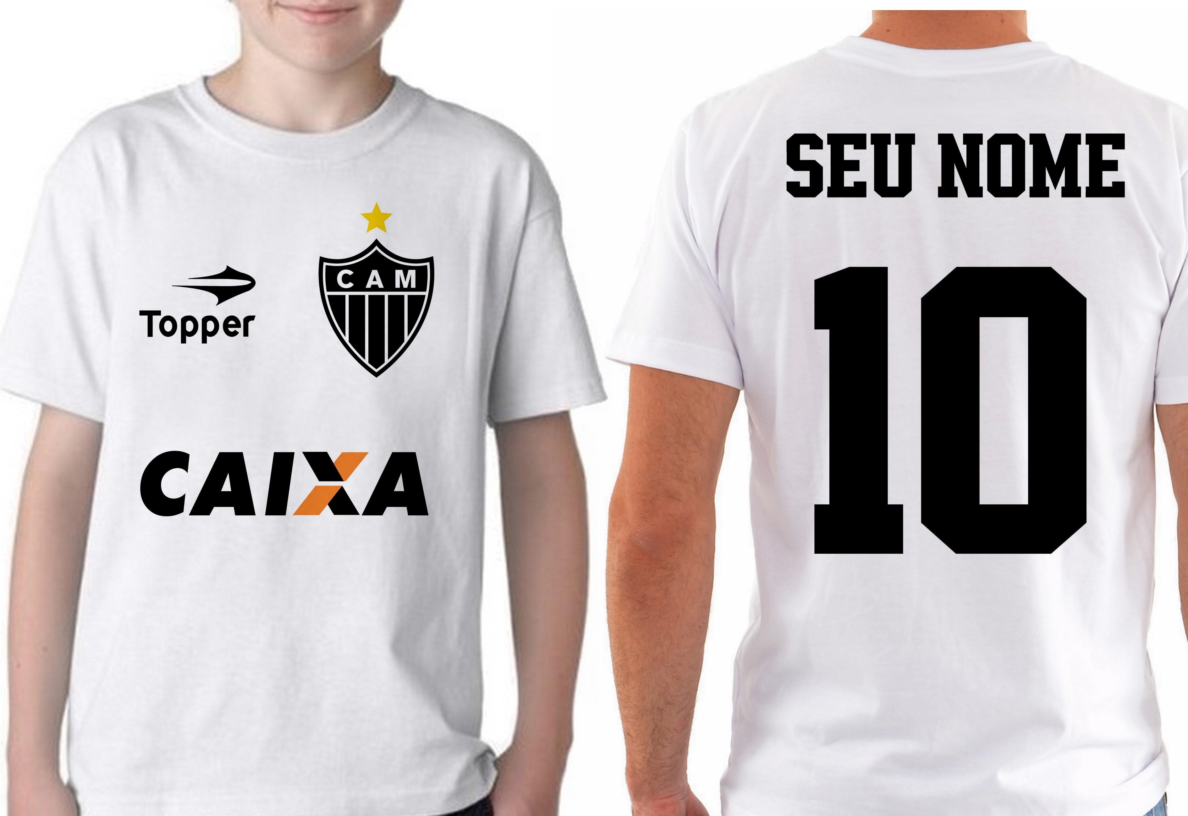 d38884e5cf Camiseta Feminina Atletico Mineiro