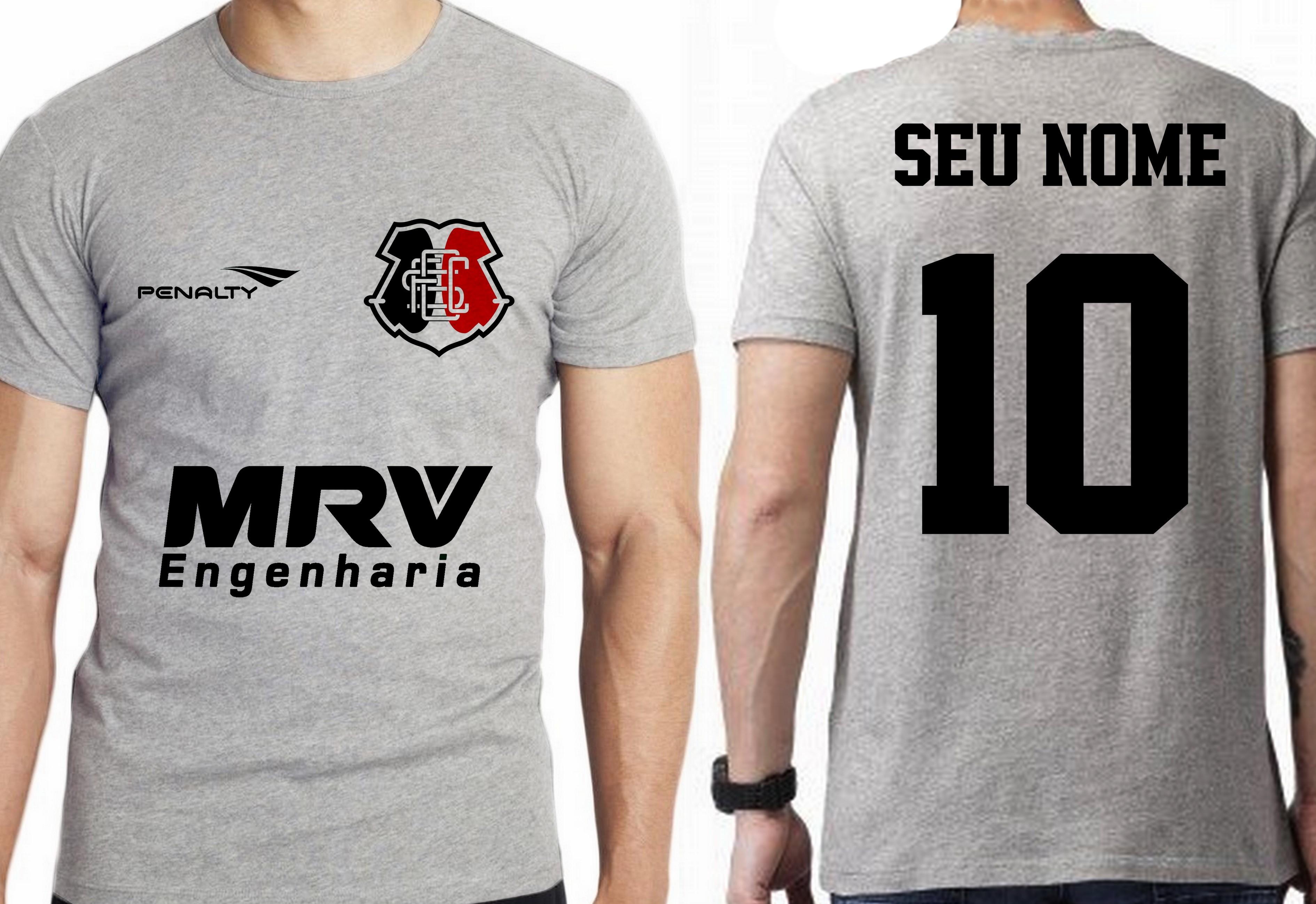 61a2425a6b camiseta blusa futebol personalizada nome time santa cruz no Elo7 ...