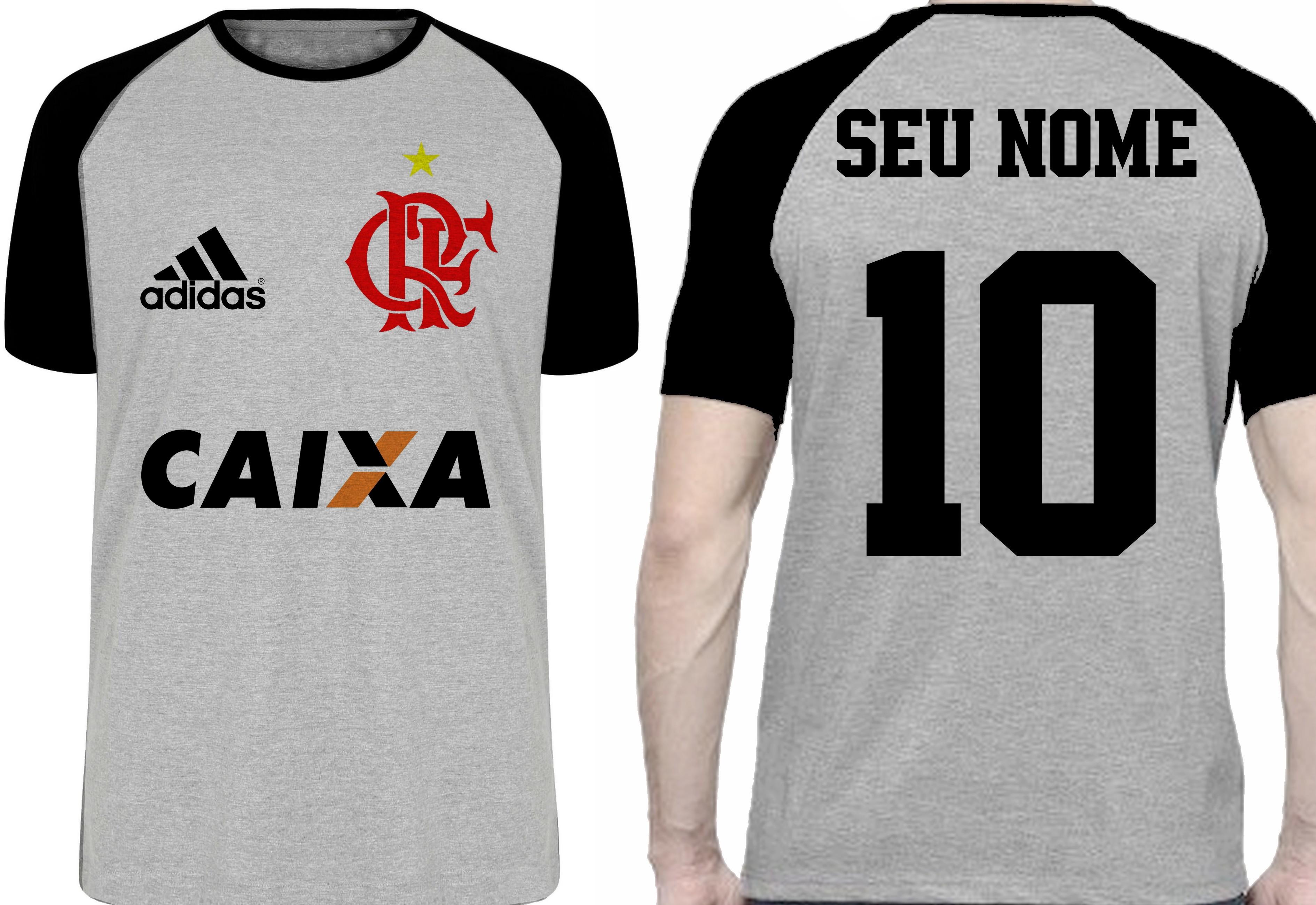 Camiseta Time do Coracao Flamengo  8825f541b5f55