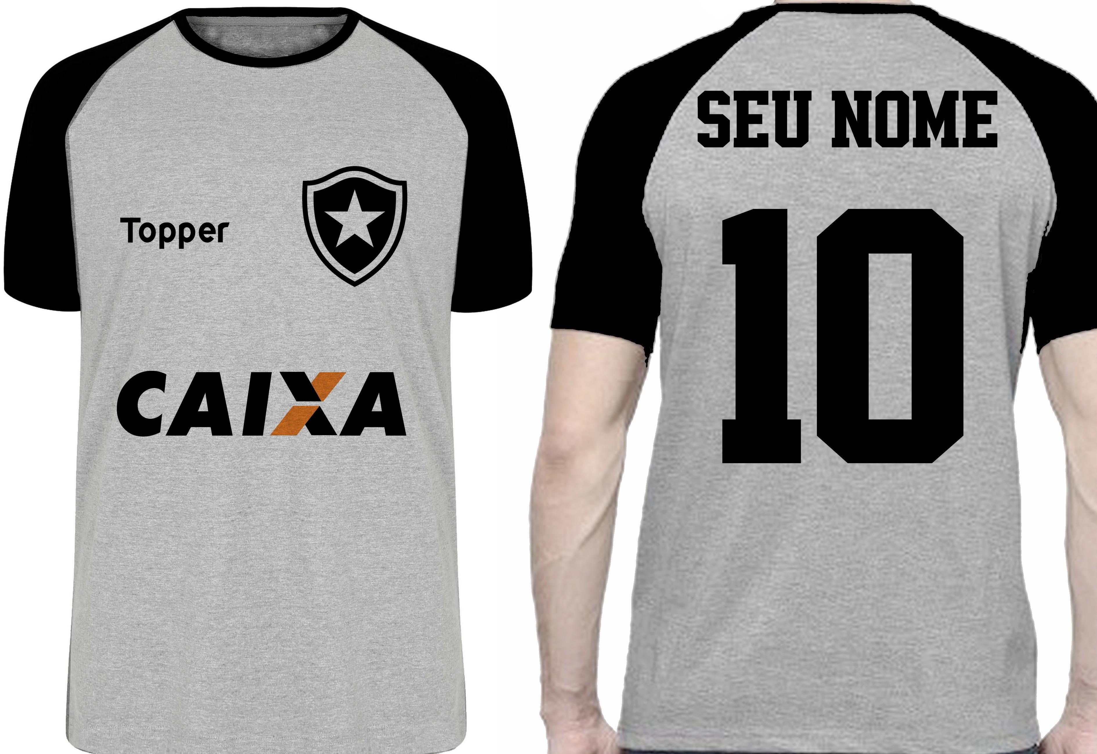 f9e7f0381d Camiseta Botafogo Feminina Torcedor