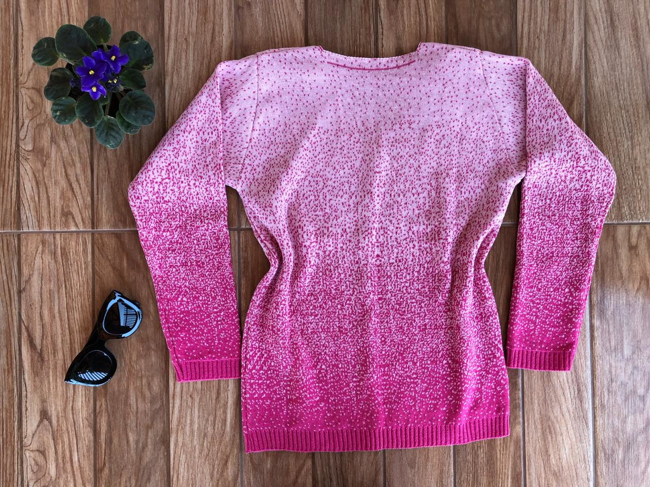 48144e8601 Blusa de Frio Cardigan Casaco de lã Tricot Cor Pink no Elo7