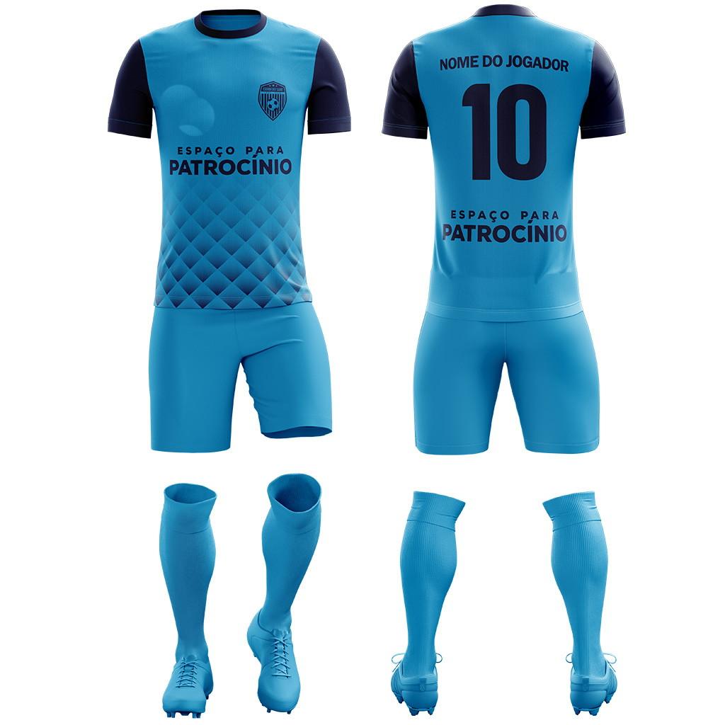 6f60961d42d8b Uniforme de Futebol Personalizada