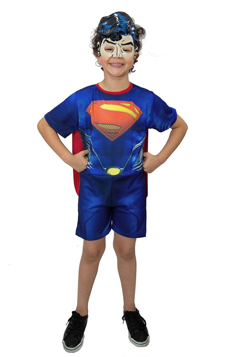 566af0bb974e1f Fantasia Super Herói Superman Infantil