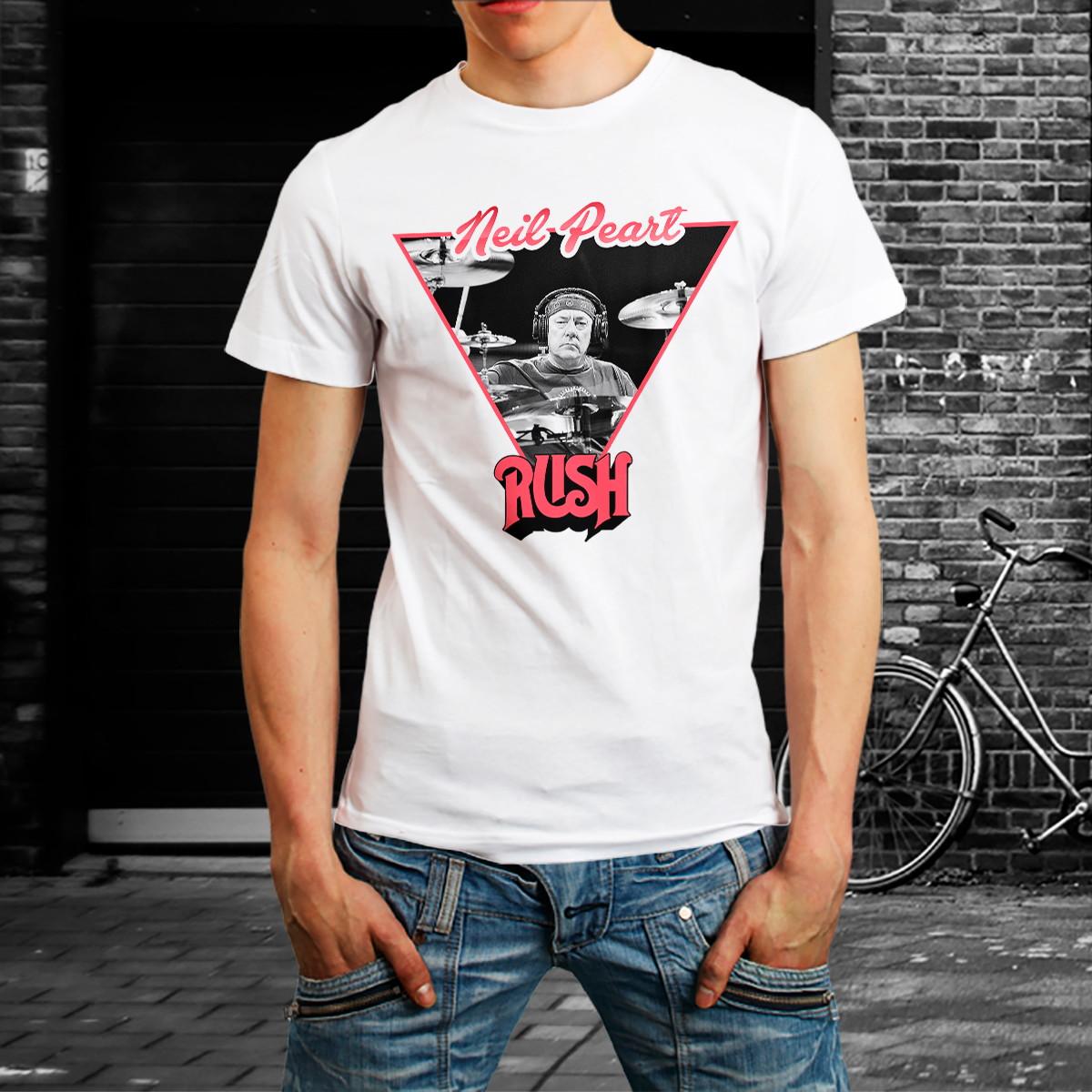 fe8a5cd297b Camiseta Banda Rock Rush Rock Camisa Música Roupa Homem no Elo7 ...