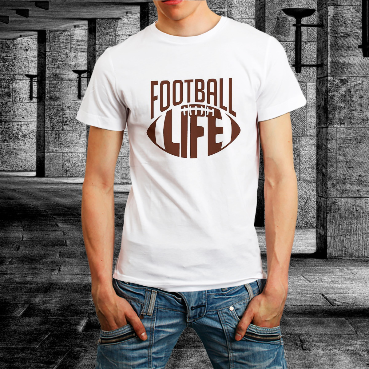89930b3872 Camiseta Futebol Americano Camisa Football Homem Roupa no Elo7 ...