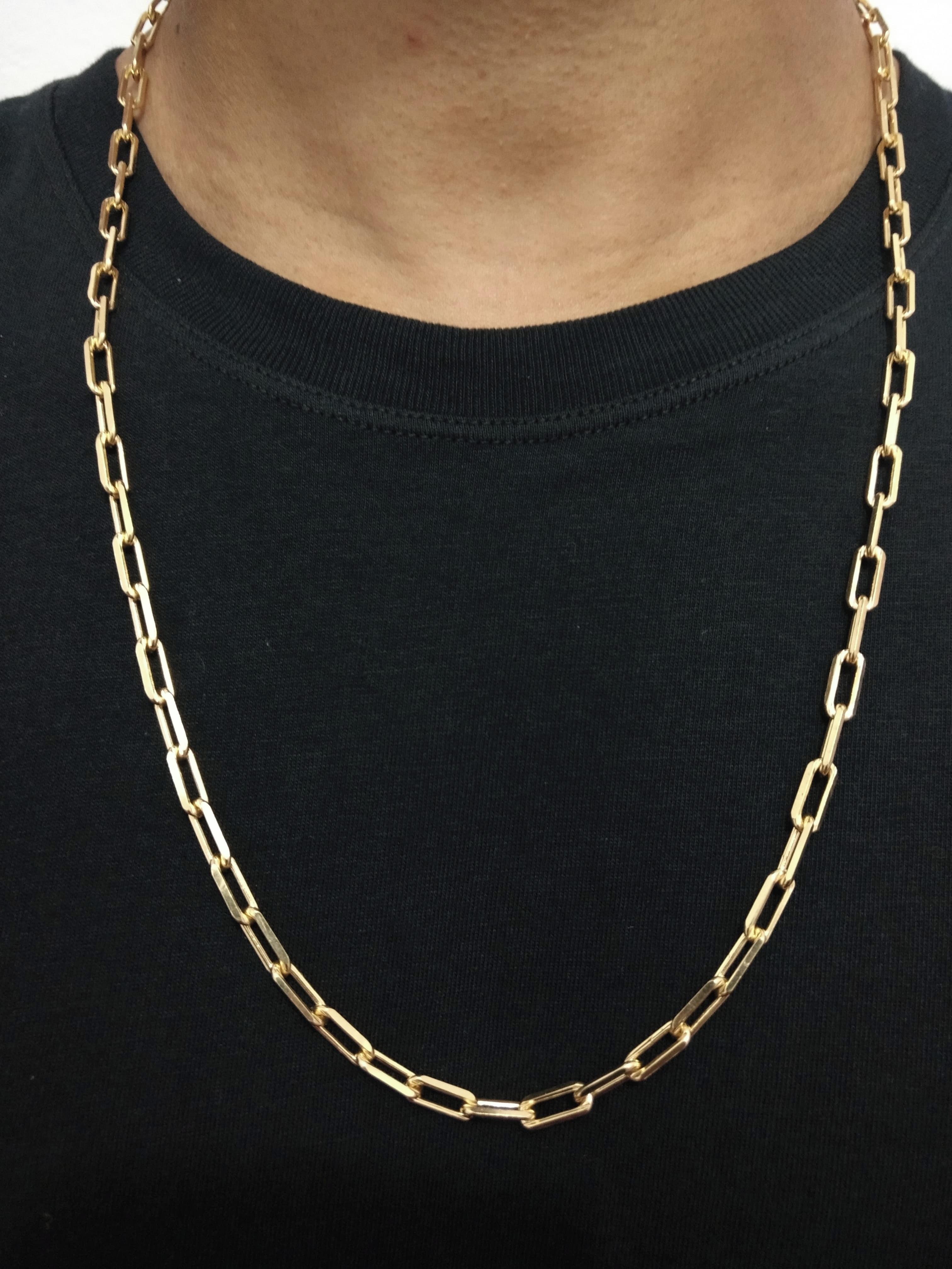 87ff5852c97 Corrente Banhada a Ouro 18k com 70cm