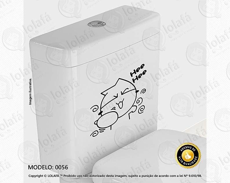 4edd84fcf0 Kit C 2 Adesivo para Vaso Sanitario Mod 17 Rosto