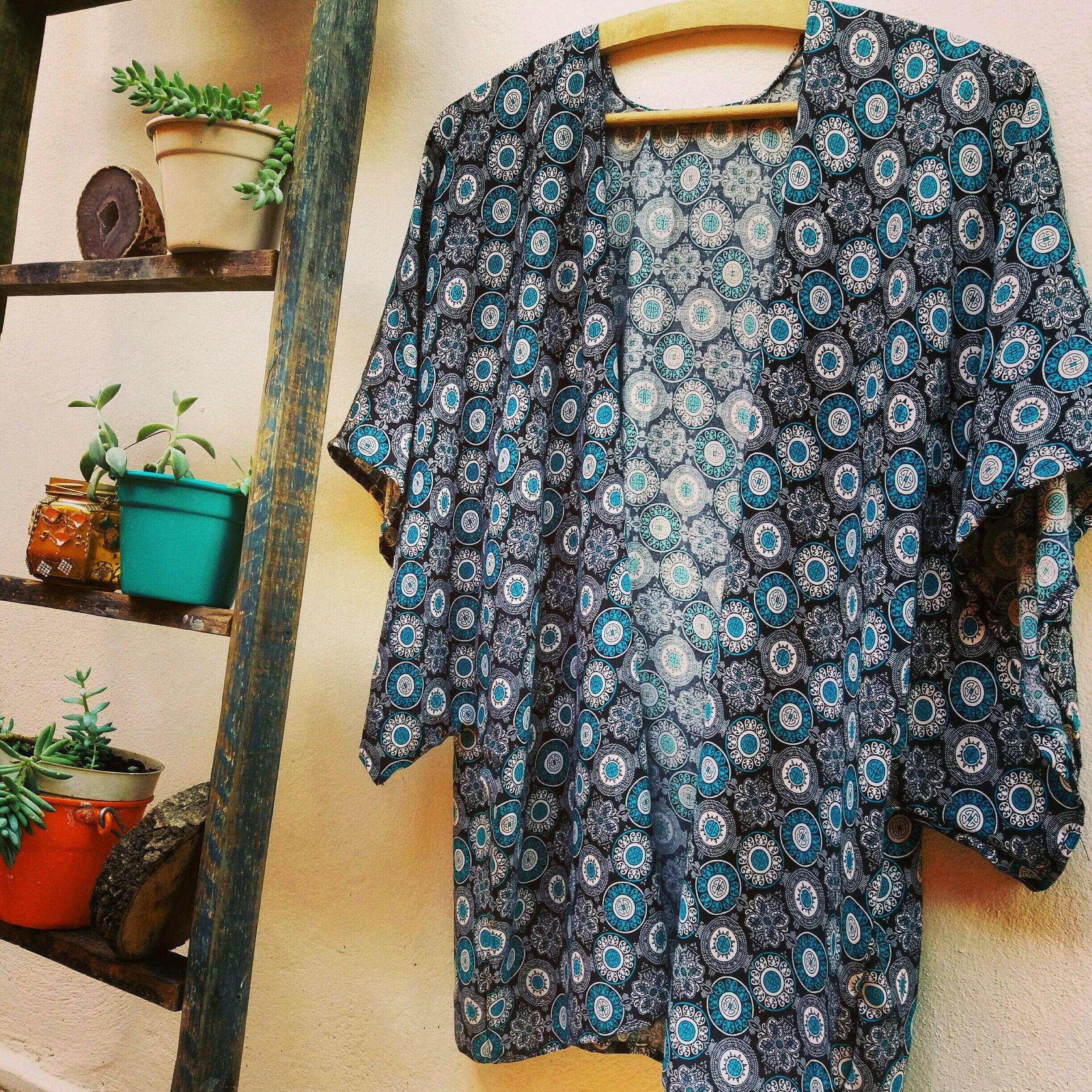 3ea3b7b797 Kimono Feminino Moda Indiano Verao 2019