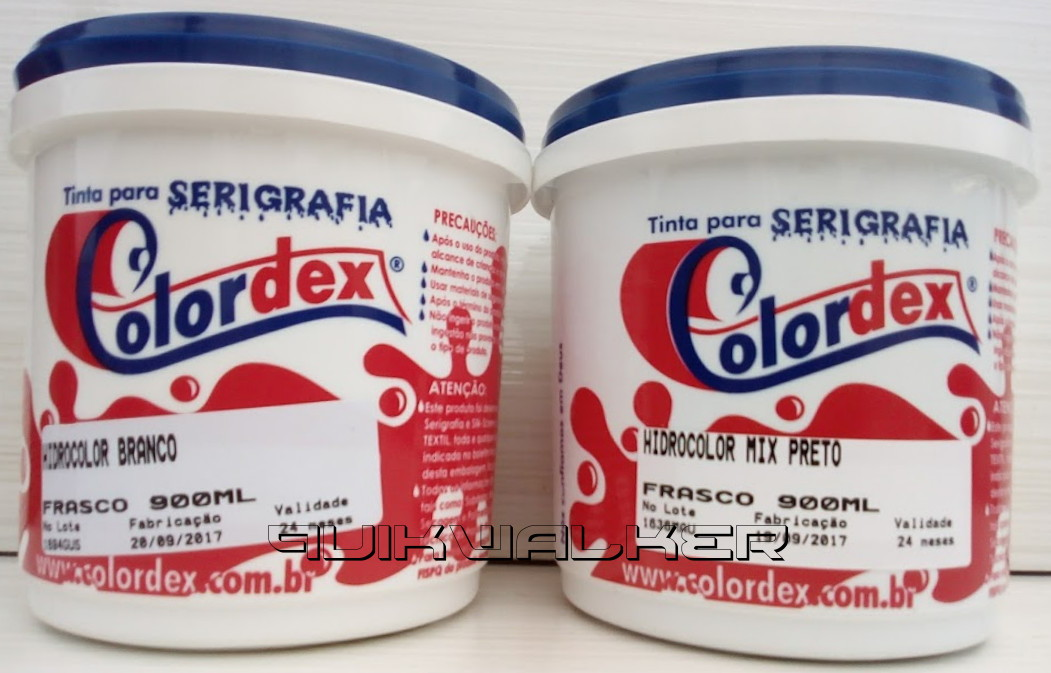 a74c80020aefa Kit Tintas Hidrocolor Mix Branca e Preta Serigrafia 900 Ml no Elo7 ...