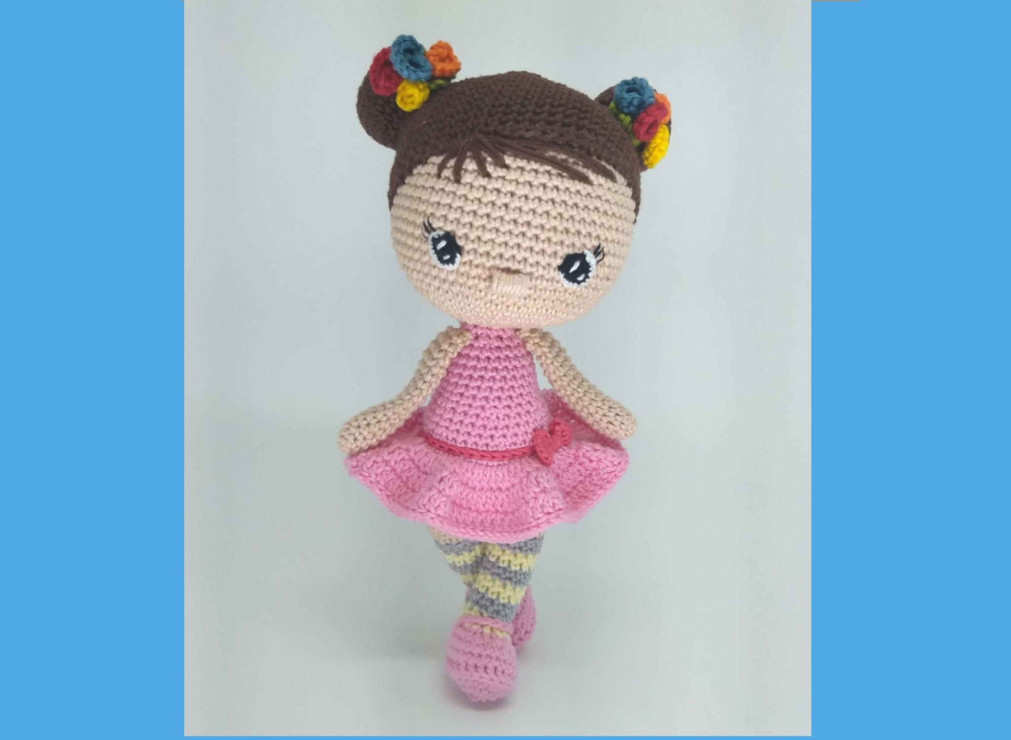 boneca croche amigurumi pronta entrega e por encomenda #amigurumi ... | 1500x2050