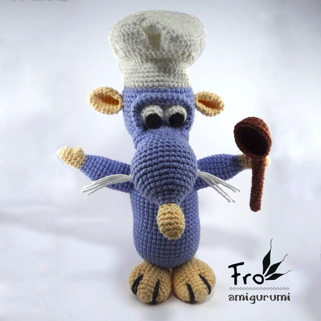 Ratatouille crochet pattern | Etsy | 1080x1080