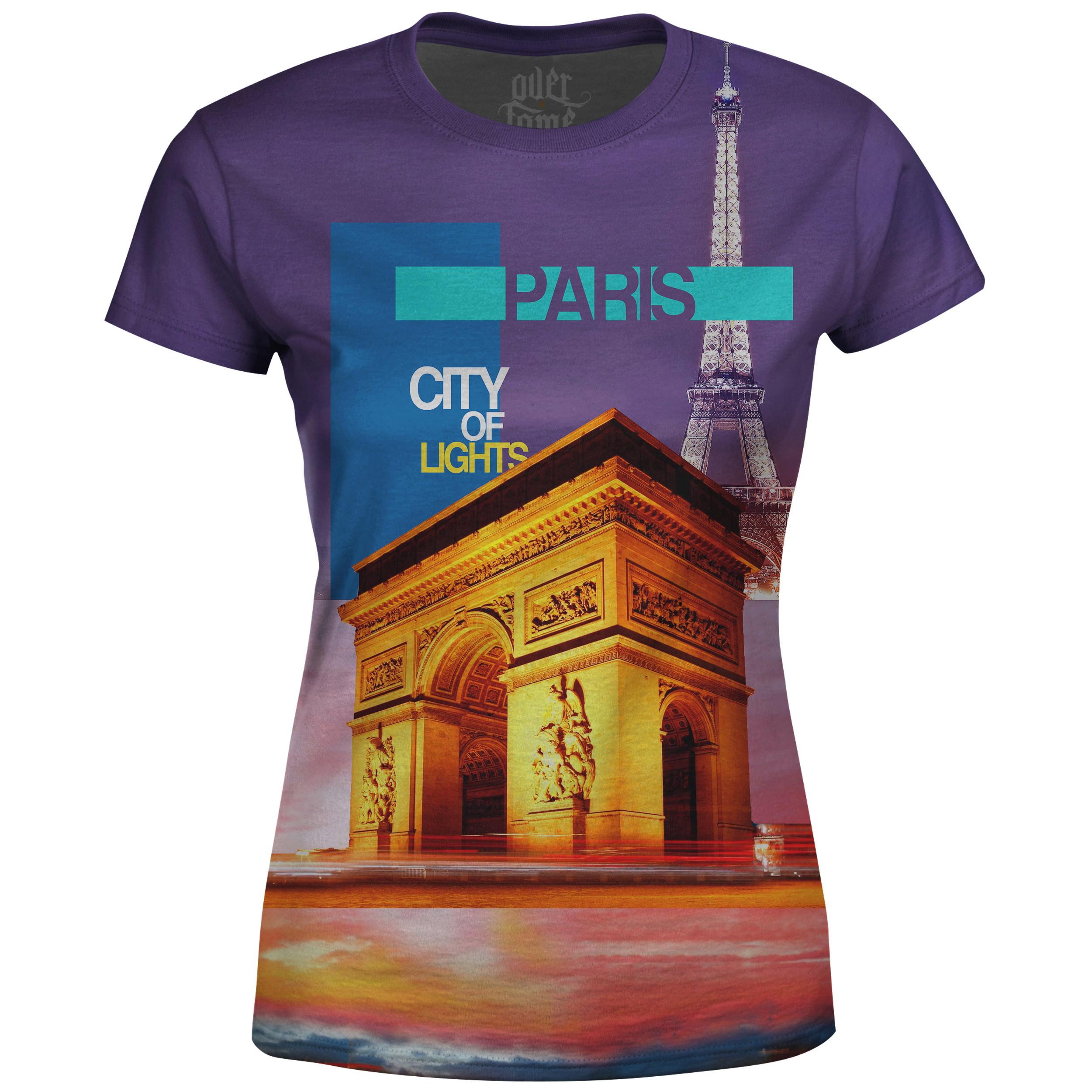 61040ab67e Camiseta Feminina Cidade Paris