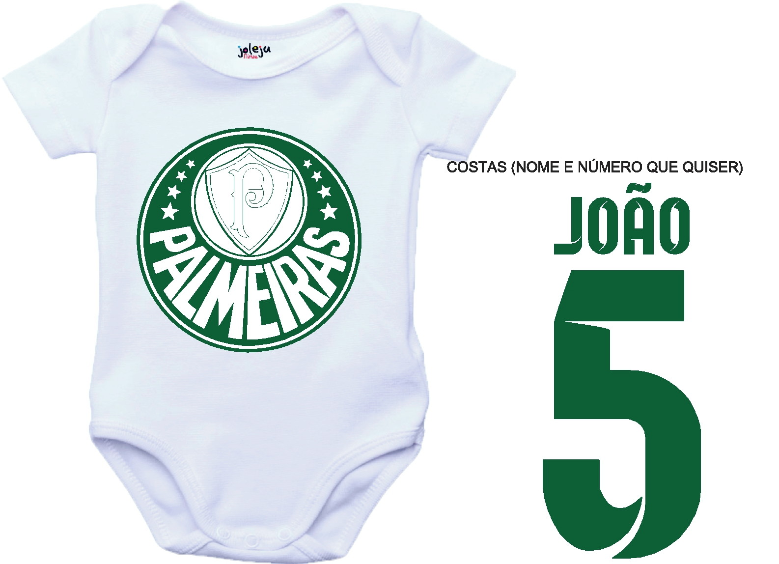 Kit Camisa e Body Flamengo Vasco Times  733797782c408