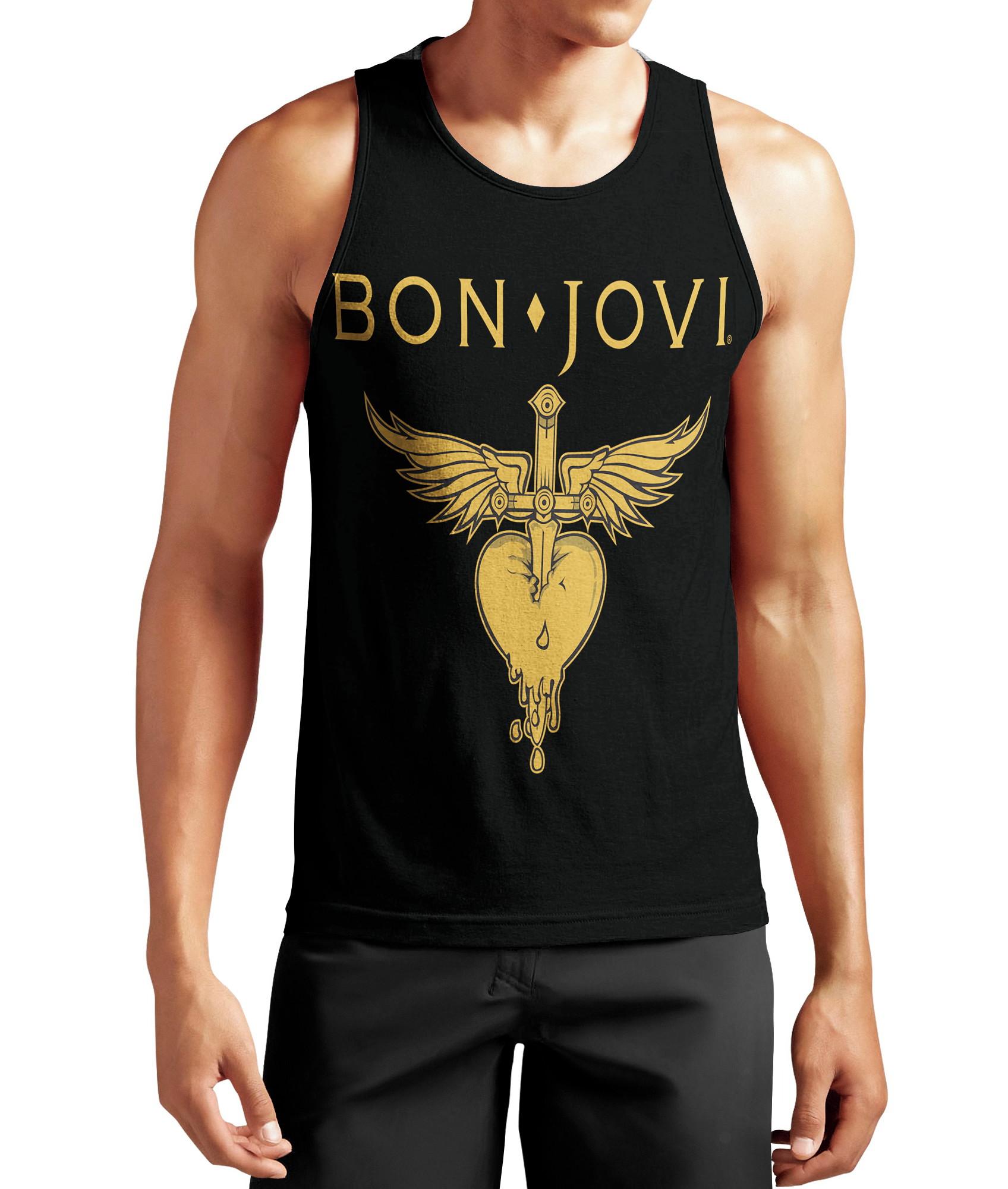 74343b383eff0 regata Camisa Bon Jovi Pop Rock Banda Manga Curta 785 no Elo7 | snarf  (E8AD54)