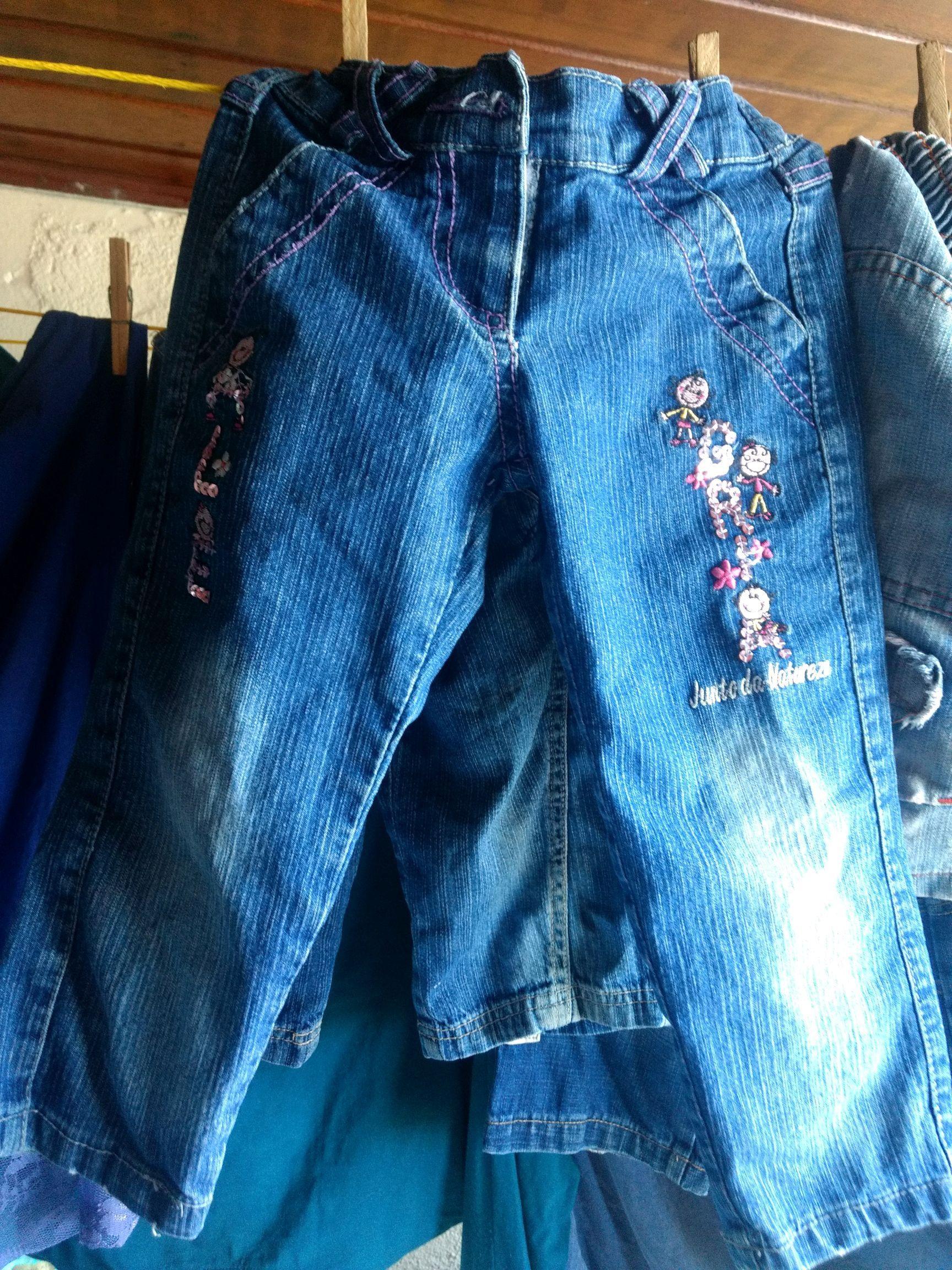 8e97a6075 Calca Jeans Feminina Rasgada Elo7