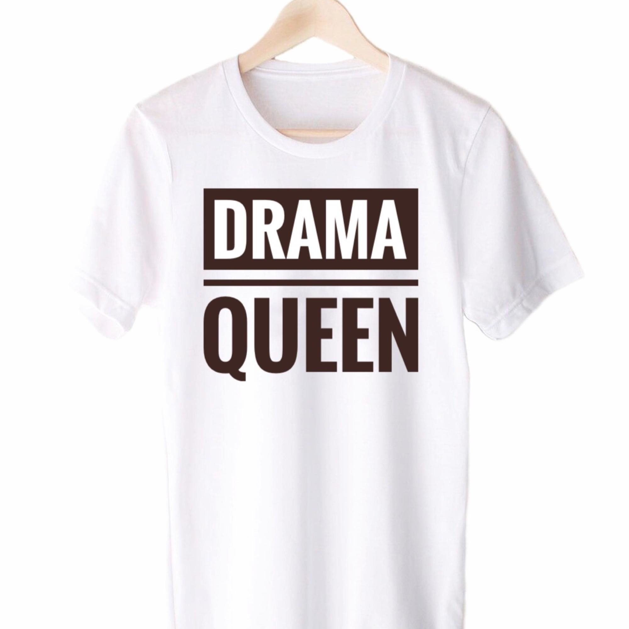 28898f2b8d Camiseta Drama Queen no Elo7