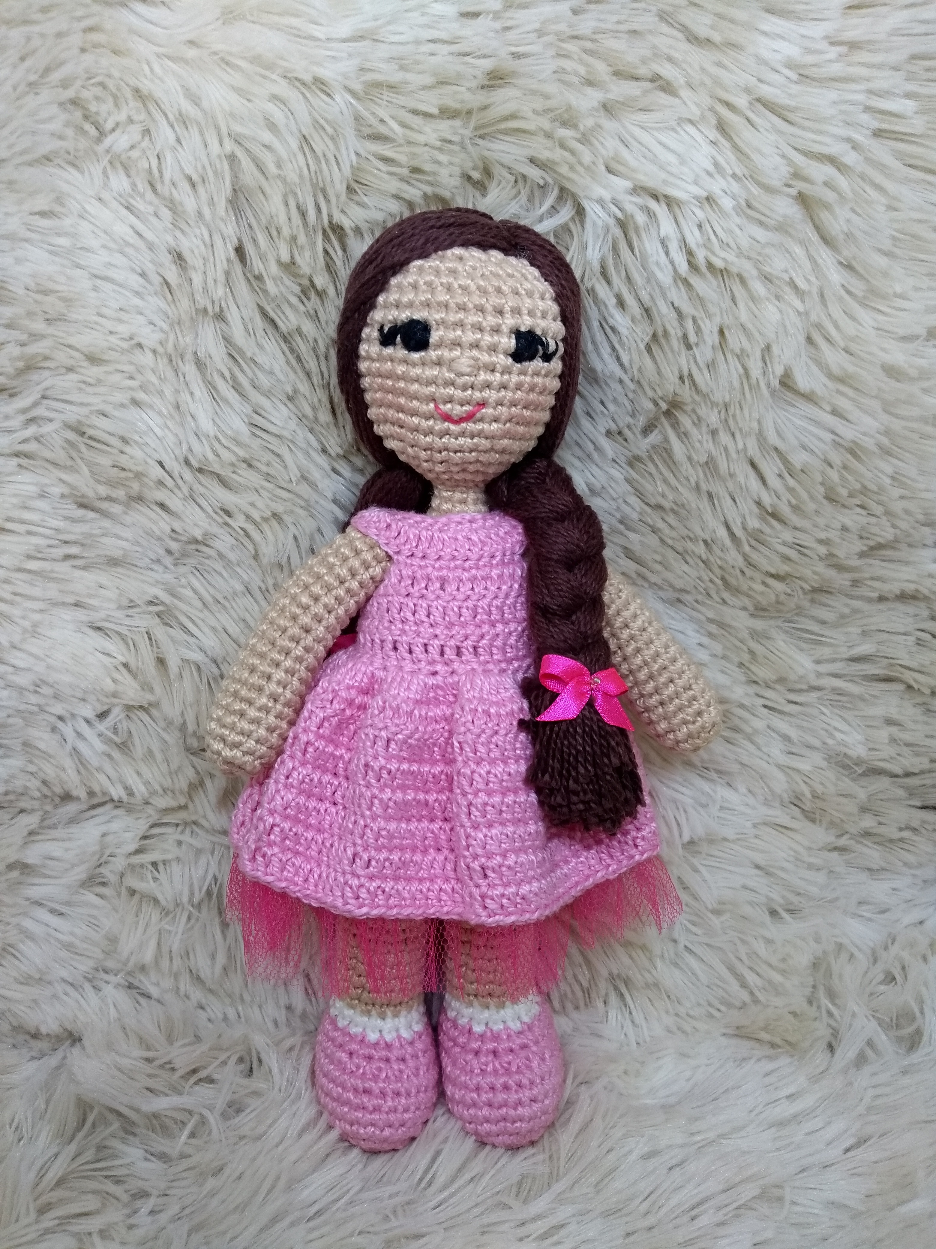 Boneca Lara amigurumi - Comprar em Malulu Ateliê | 4160x3120