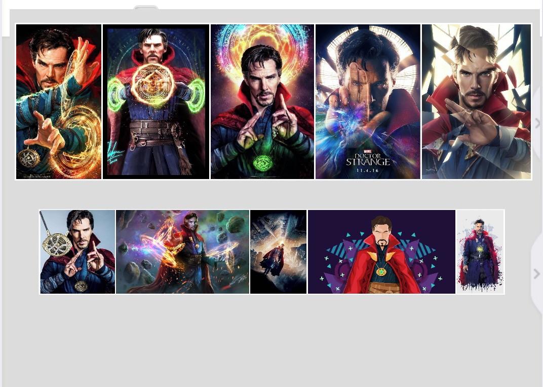 02895096410 Quadro Doutor Estranho Marvel Guerra Infinita Vingadores