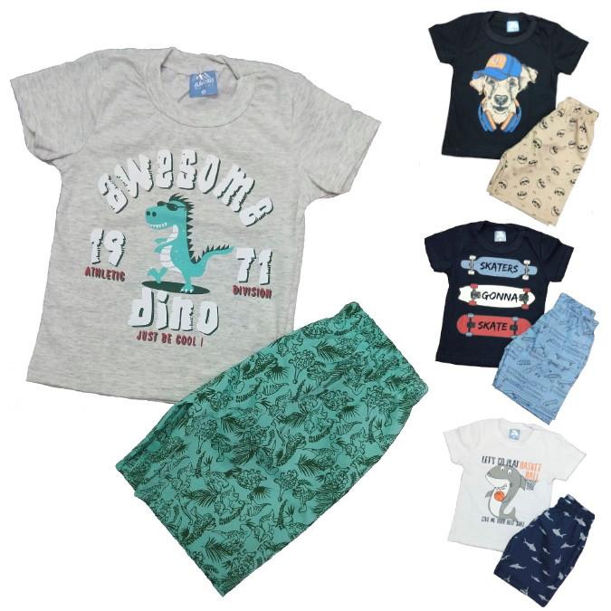ef048e2d34ba75 10 roupas de menino infantil masculino barato!