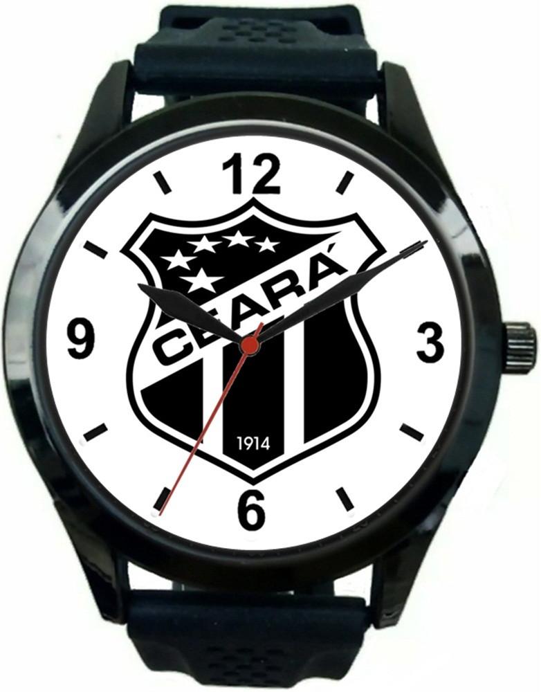 ee650abe3a3 Relogio Pulso Personalizado Escudo Times Futebol Barato