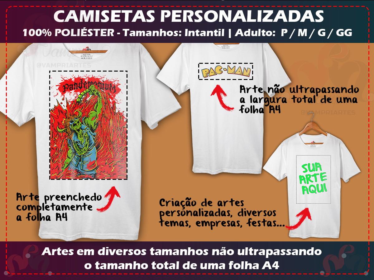 69d92d438e Camiseta Lisa Infantil 100 Poliester