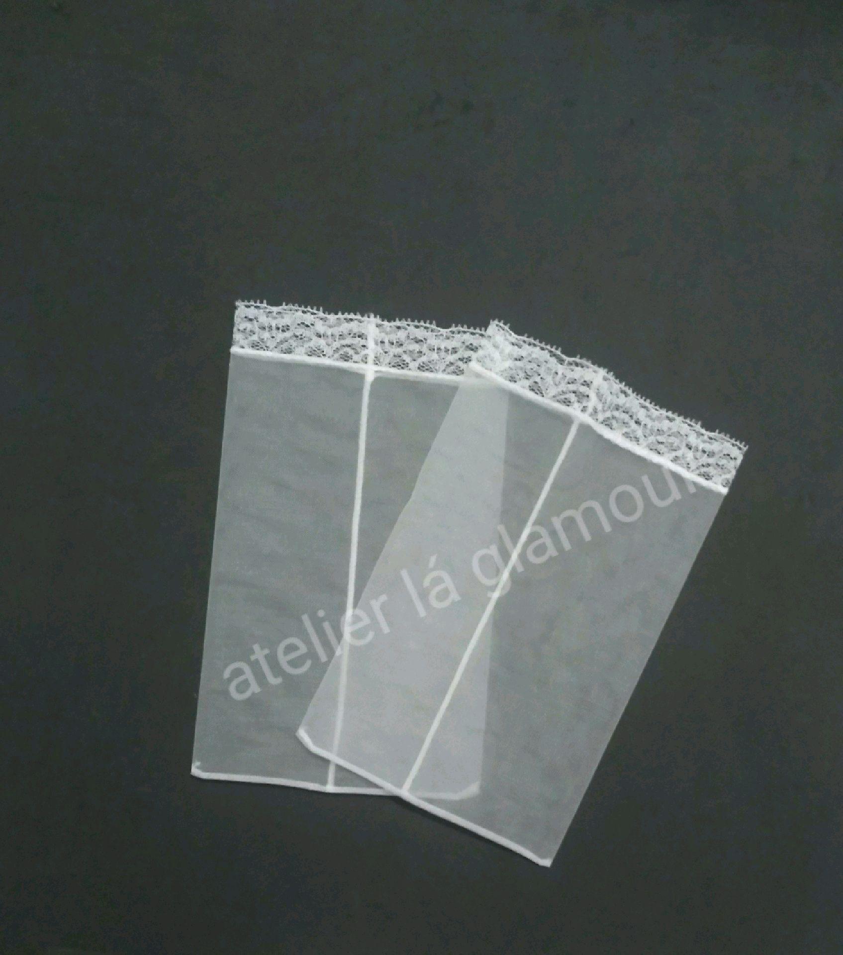 7eeebdae8 Saquinho Organza Branco 12x8 | Elo7