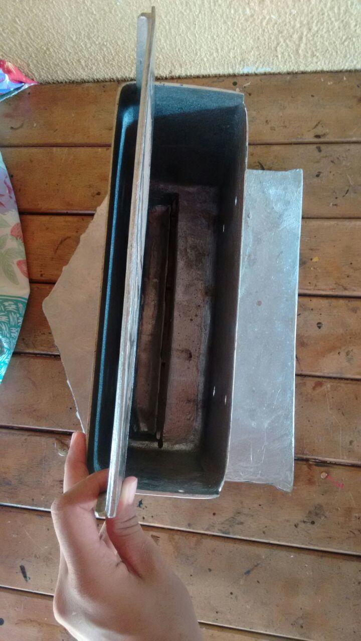a2d4f6298180 Caixa de correspondência grande com endereço modelo casinha no Elo7 | RS  FUNDIÇÕES (EA76EF)