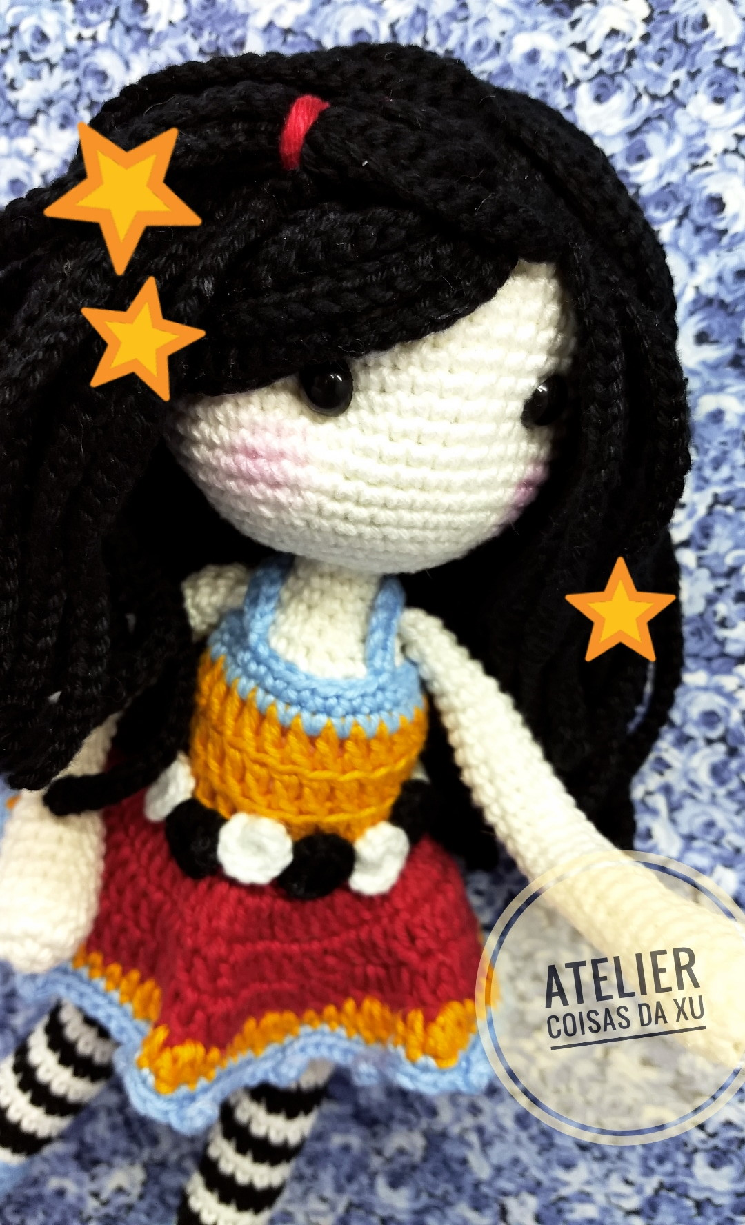 Crochet Gorjuss Girl Doll Free Pattern - #Crochet, #Doll Toys Free ... | 1776x1080
