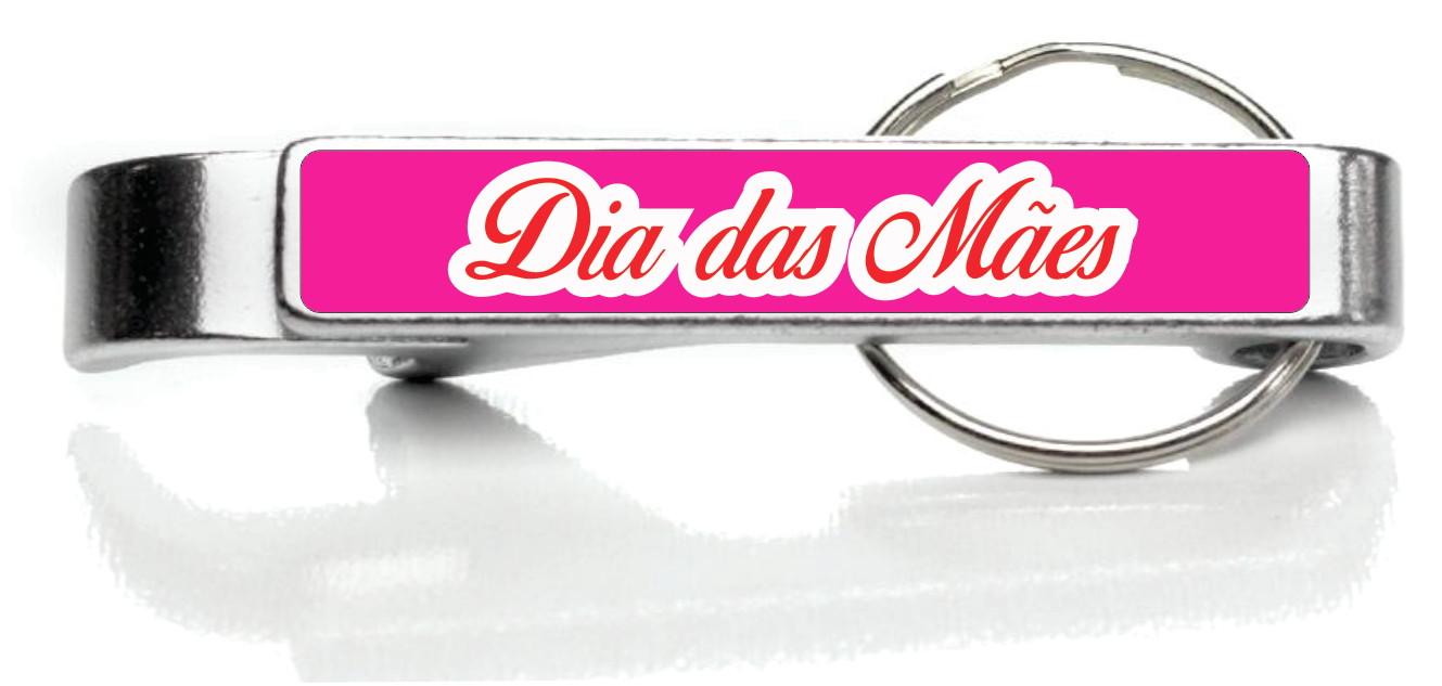 75ec5ad66 100 Dia das Mães Chaveiro Alumínio Color Personalizado no Elo7 ...