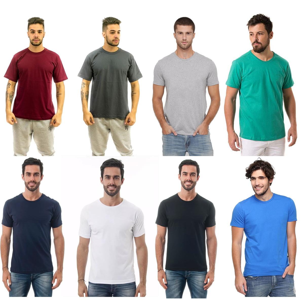 8ce072dd625dd Camiseta Masculina 100 Algodao