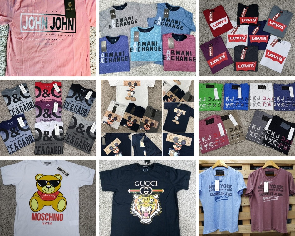 cadb8404ea888 Camisa de Marca Famosa