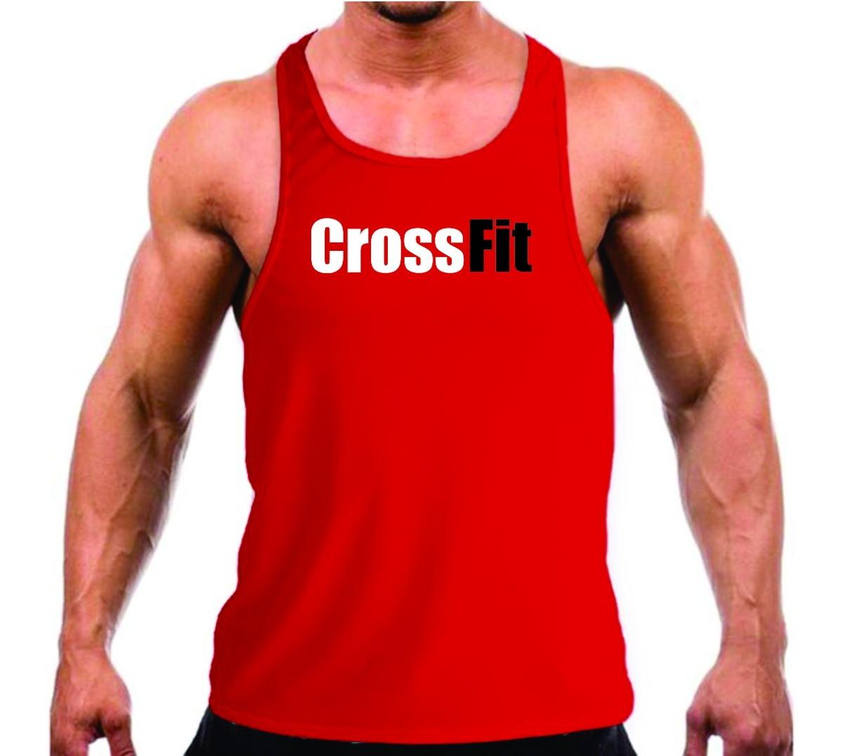 edf3c651450ae Camiseta Regata Crossfit Musculação Academia Treino no Elo7