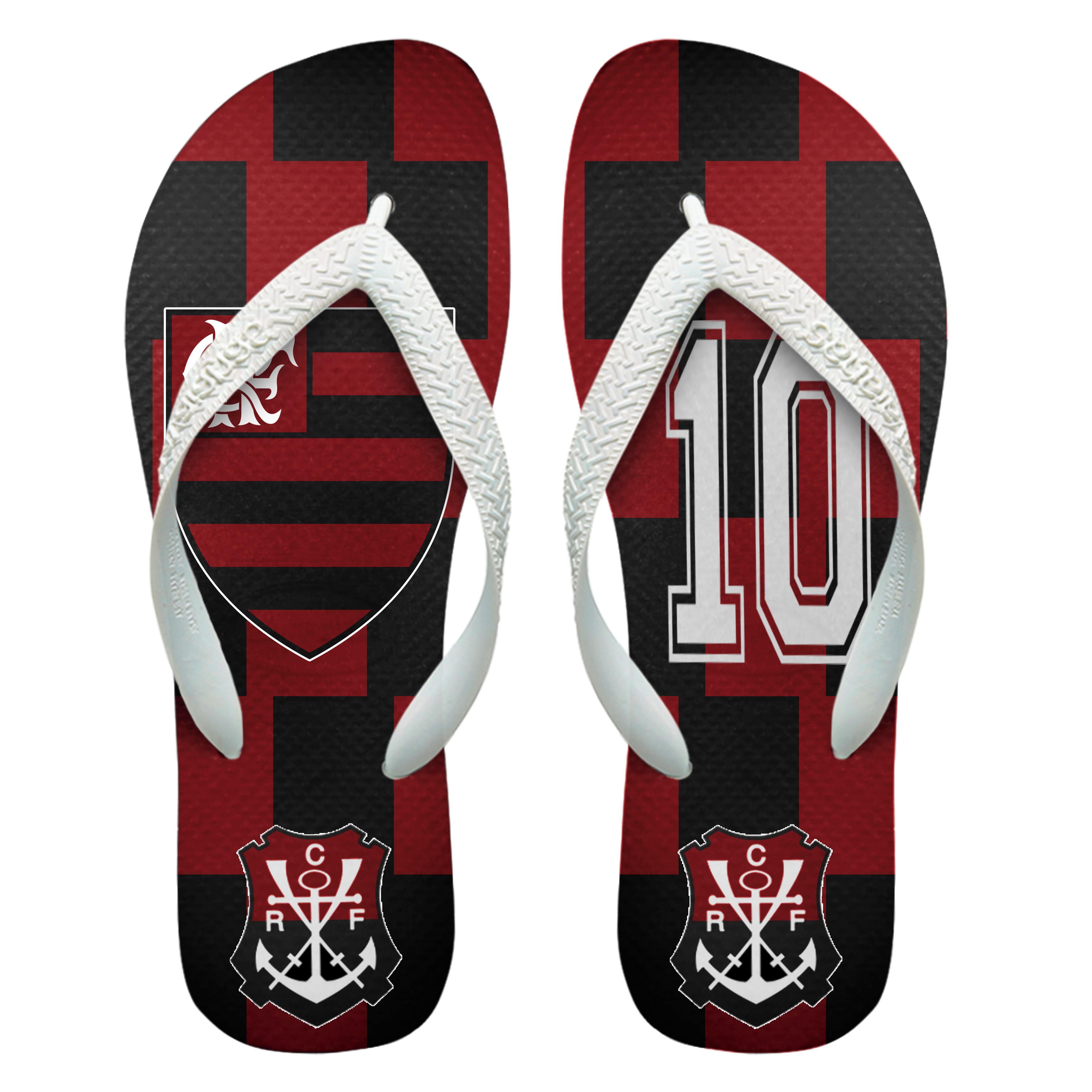589227b72ae98d Chinelos Personalizados Havaianas Flamengo [5]