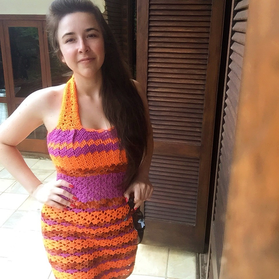63459be9f Croche Moda Vintage | Elo7