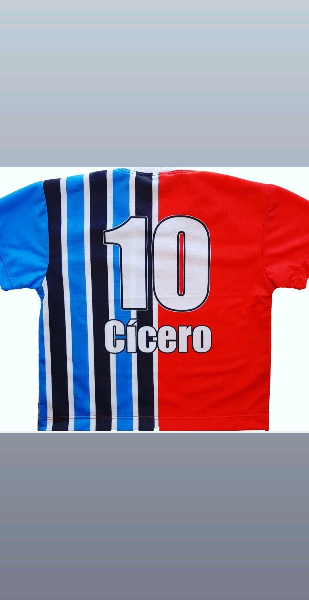 52463b3c66431 Camiseta infantil grenal time grêmio internacional no Elo7 ...